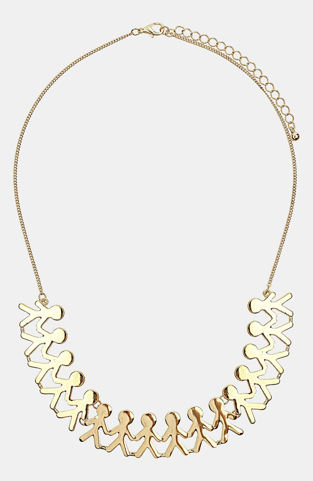 Alternate Image 1 Selected - Topshop 'People' Necklace