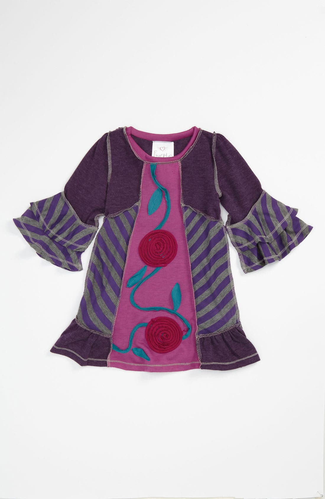 Alternate Image 1 Selected - Freckles & Kitty Patchwork Dress (Toddler)