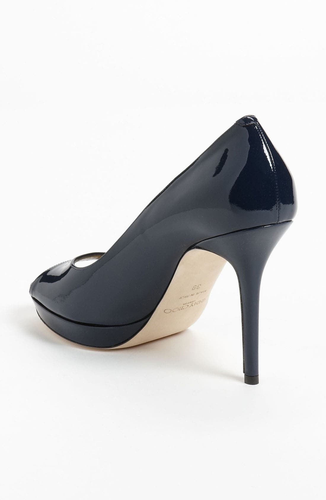 Alternate Image 2  - Jimmy Choo 'Luna' Peep Toe Platform Pump (Women)