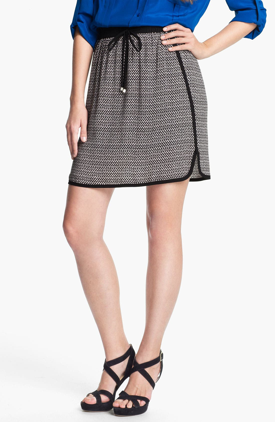 Main Image - Mcginn 'Jackie' Checkered Skirt