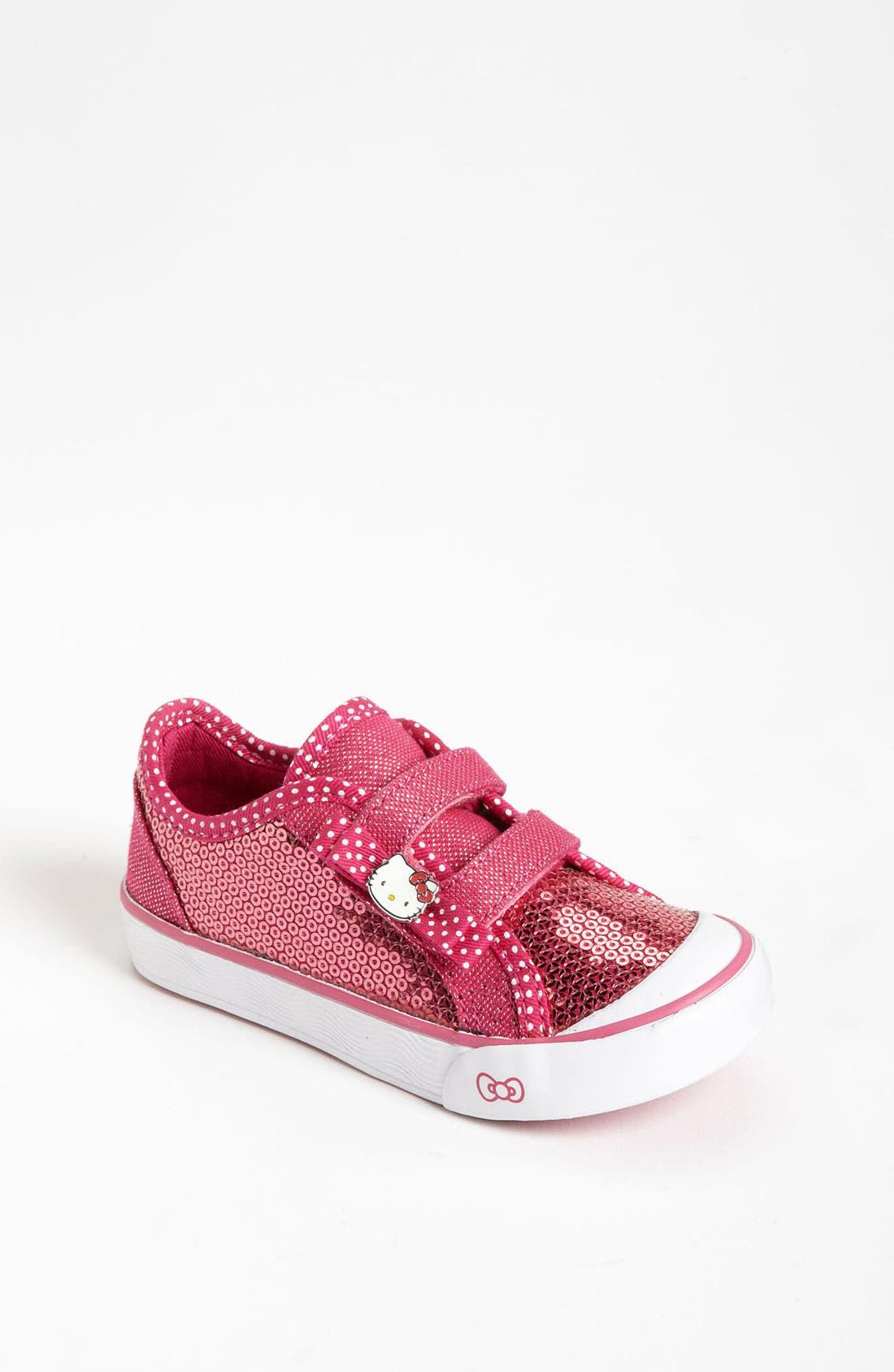 Alternate Image 1 Selected - Keds® 'Hello Kitty® - Mimmy' Sneaker (Walker & Toddler)
