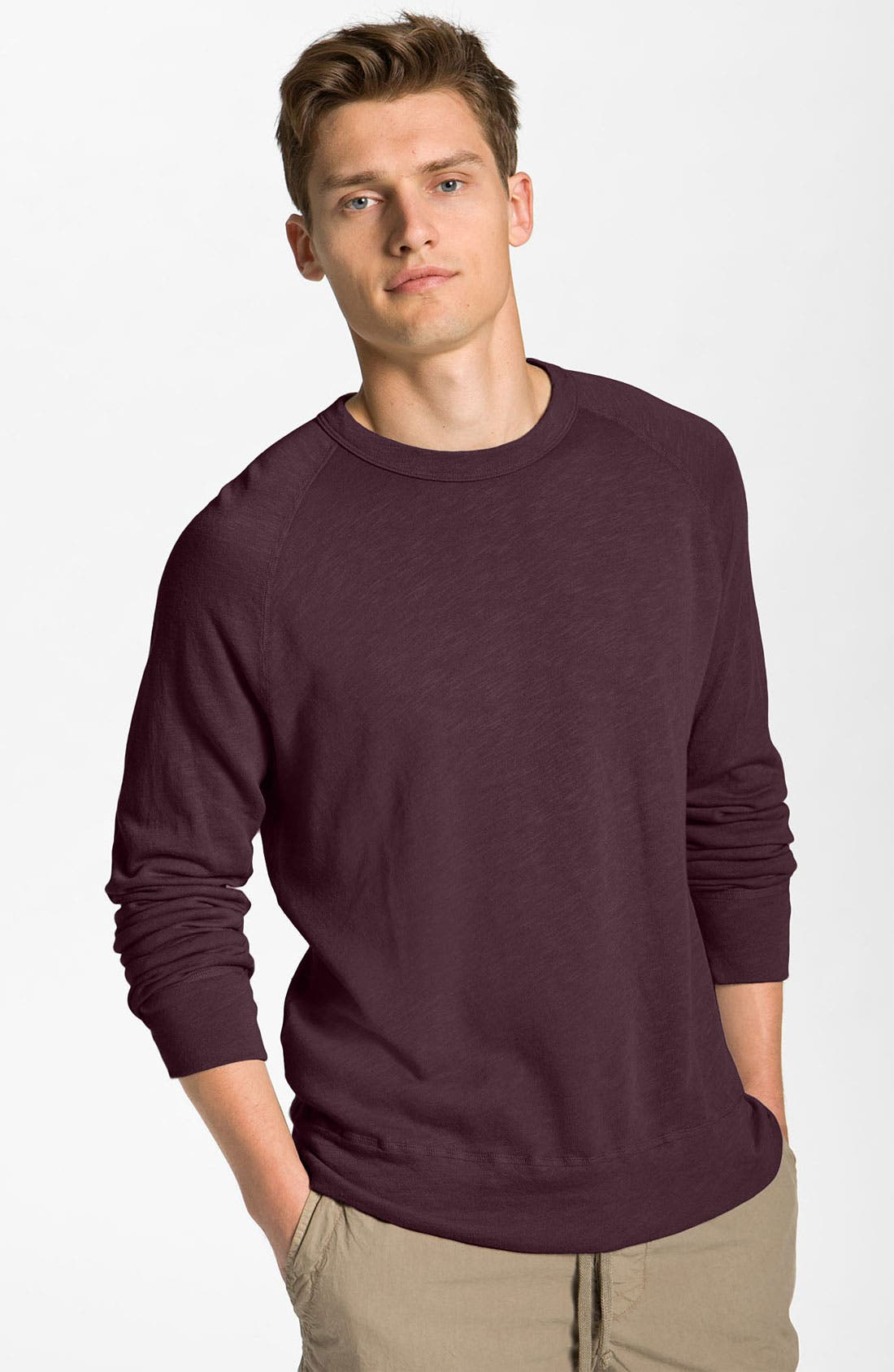Alternate Image 1 Selected - James Perse Crewneck Sweatshirt
