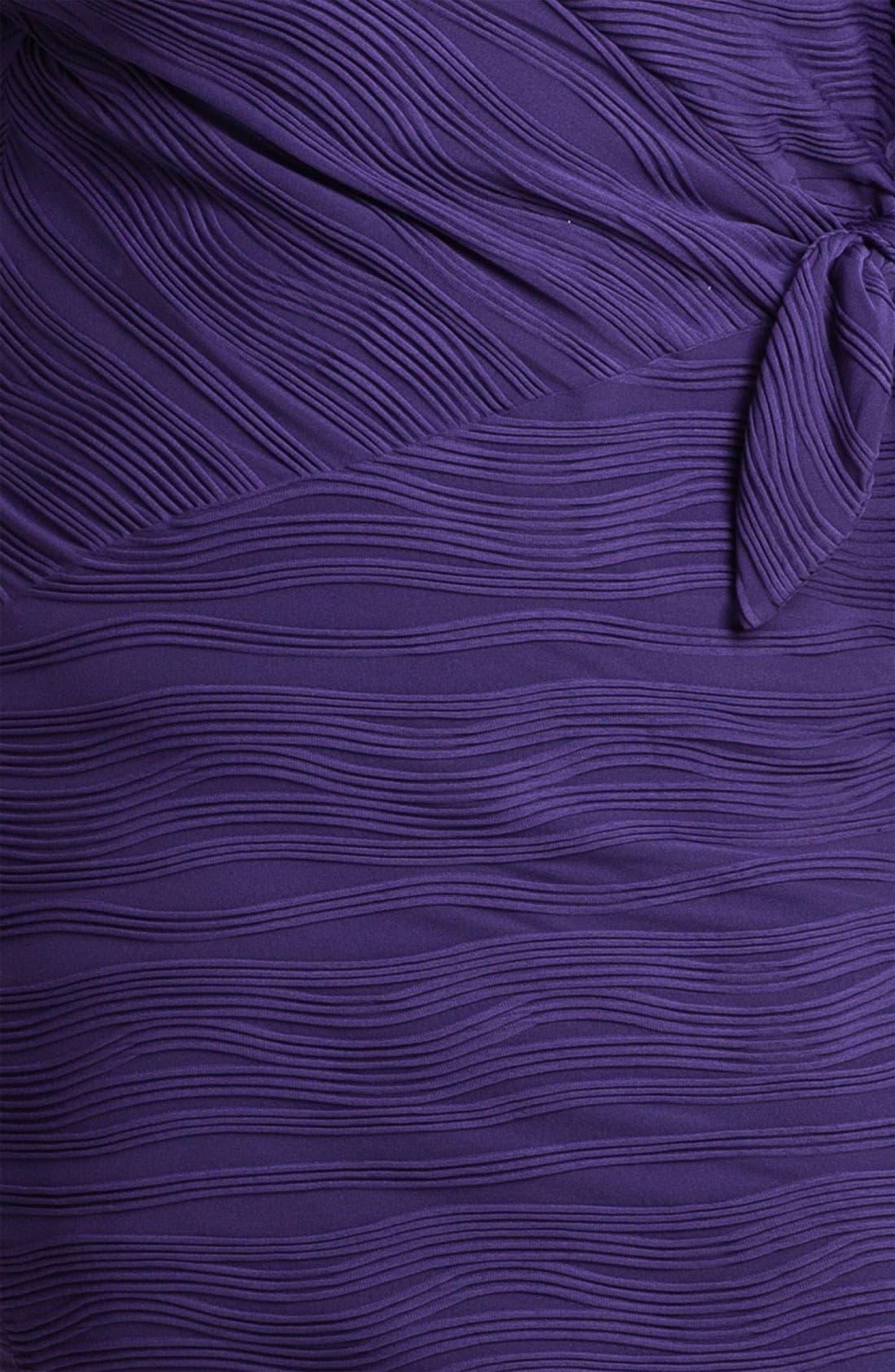 Alternate Image 3  - Calvin Klein Side Tie Textured Sheath Dress (Plus)