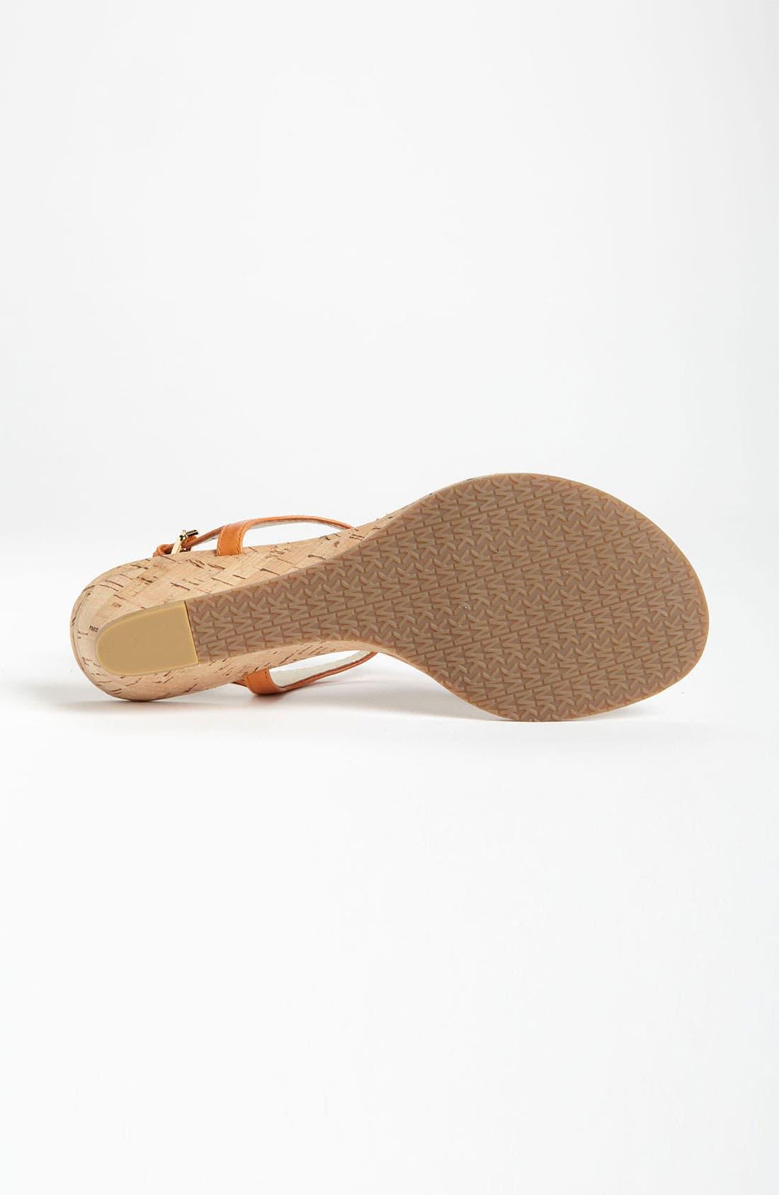 Alternate Image 4  - MICHAEL Michael Kors 'Hamilton' Sandal