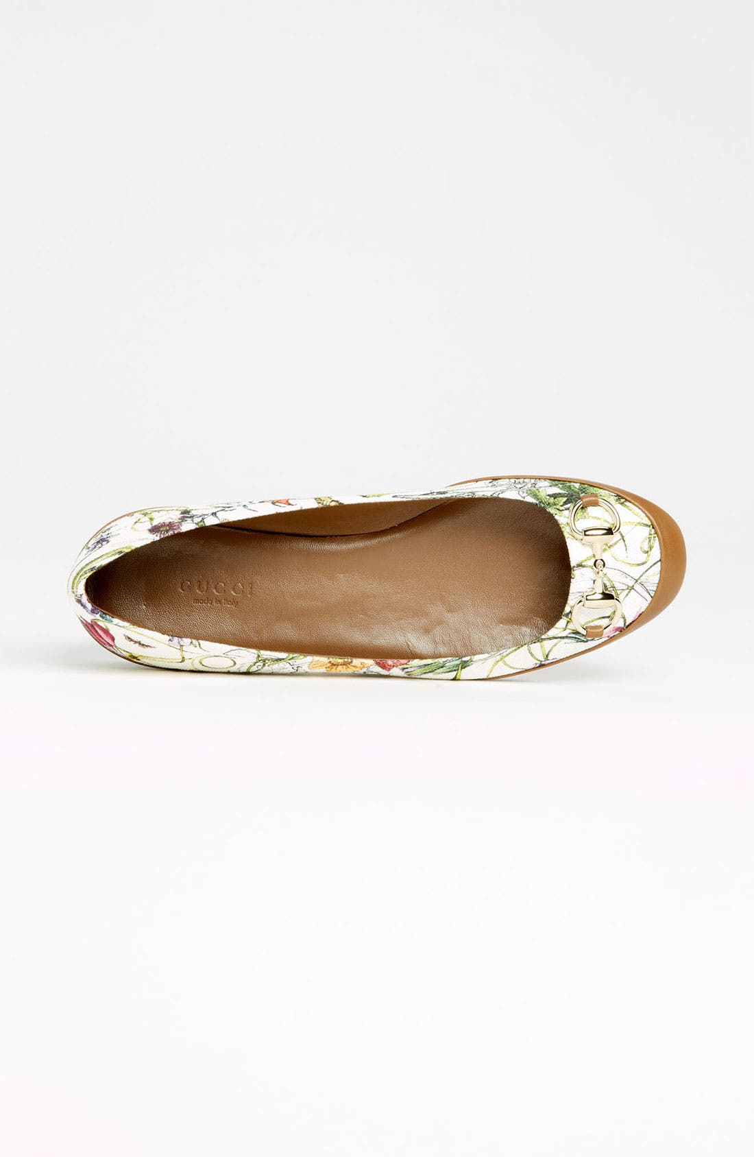 Alternate Image 3  - Gucci 'Carlie' Horse Bit Ballet Flat