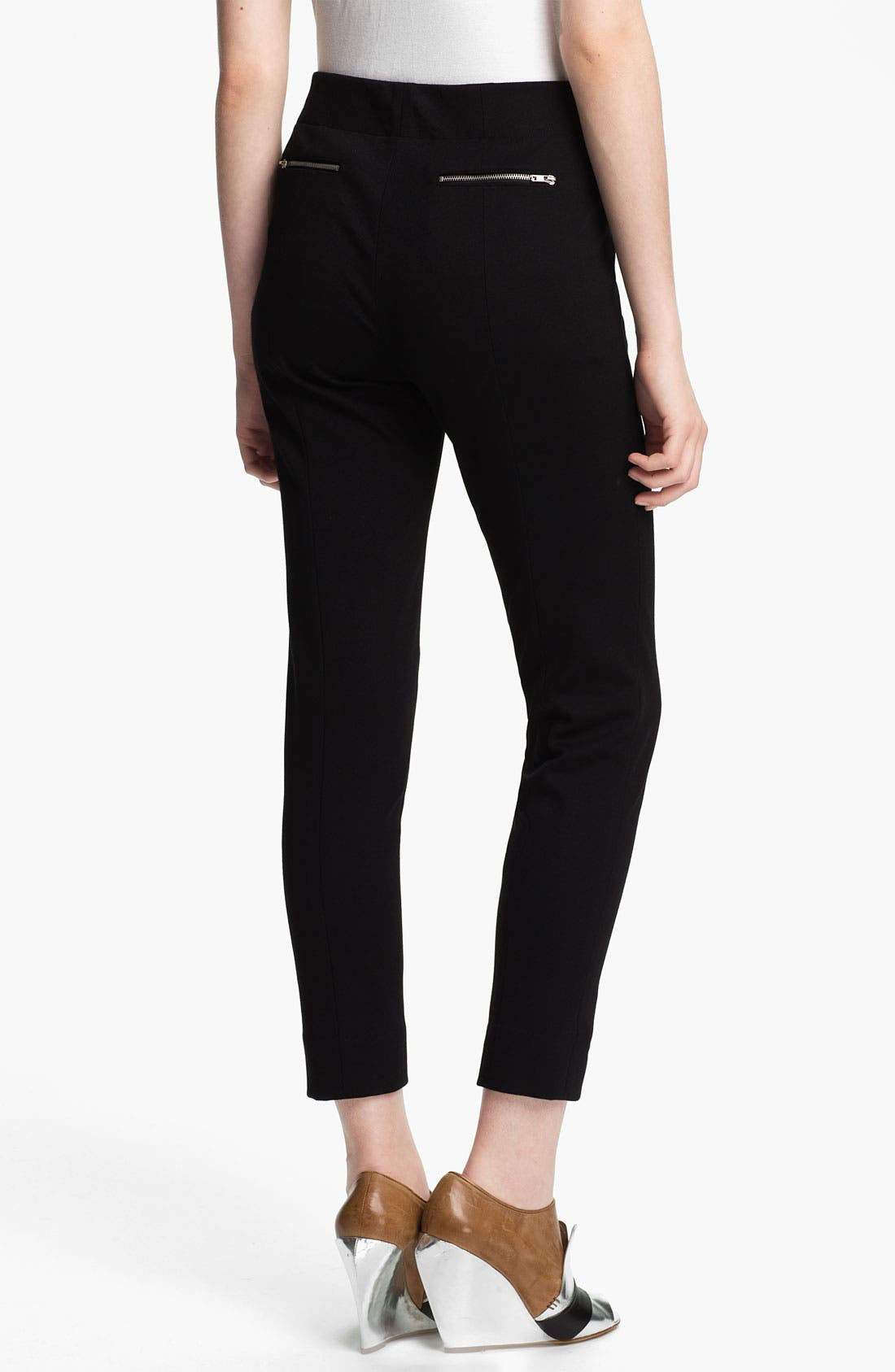 Alternate Image 2  - Tracy Reese Slim Ponte Knit Pants