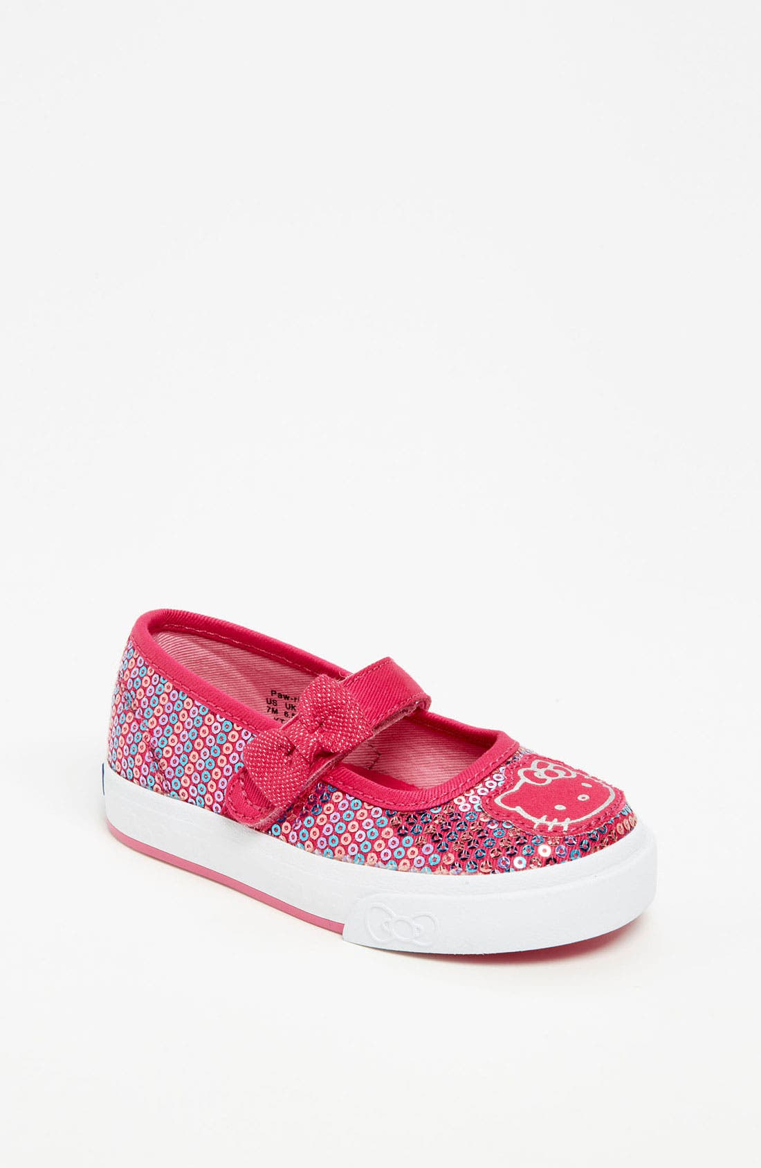 Main Image - Keds® 'Hello Kitty® - Pawriffic' Mary Jane (Baby, Walker & Toddler)