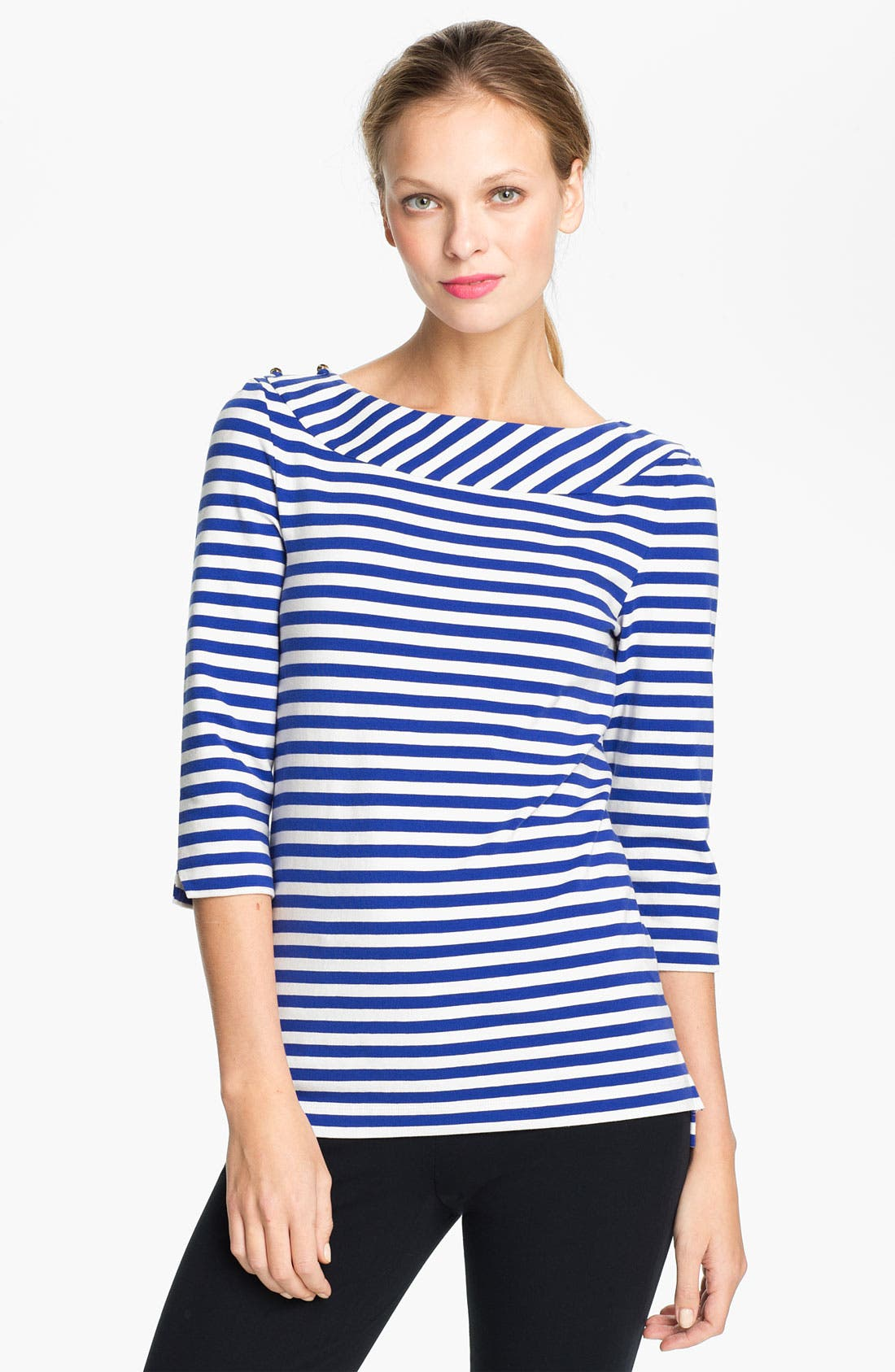 Main Image - kate spade new york 'shantie' stripe top