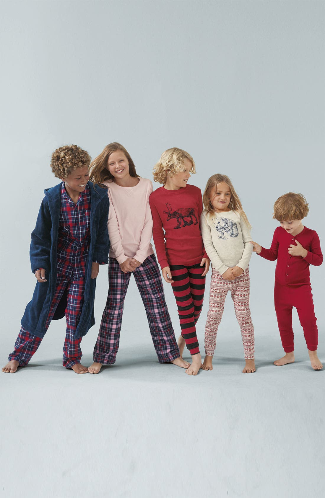 Alternate Image 2  - Tucker + Tate Flannel Pajama Set (Little Boys & Big Boys)