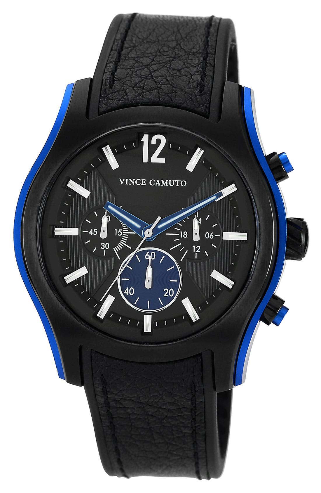 Alternate Image 1 Selected - Vince Camuto Aluminum Accent Chronograph Watch, 44mm