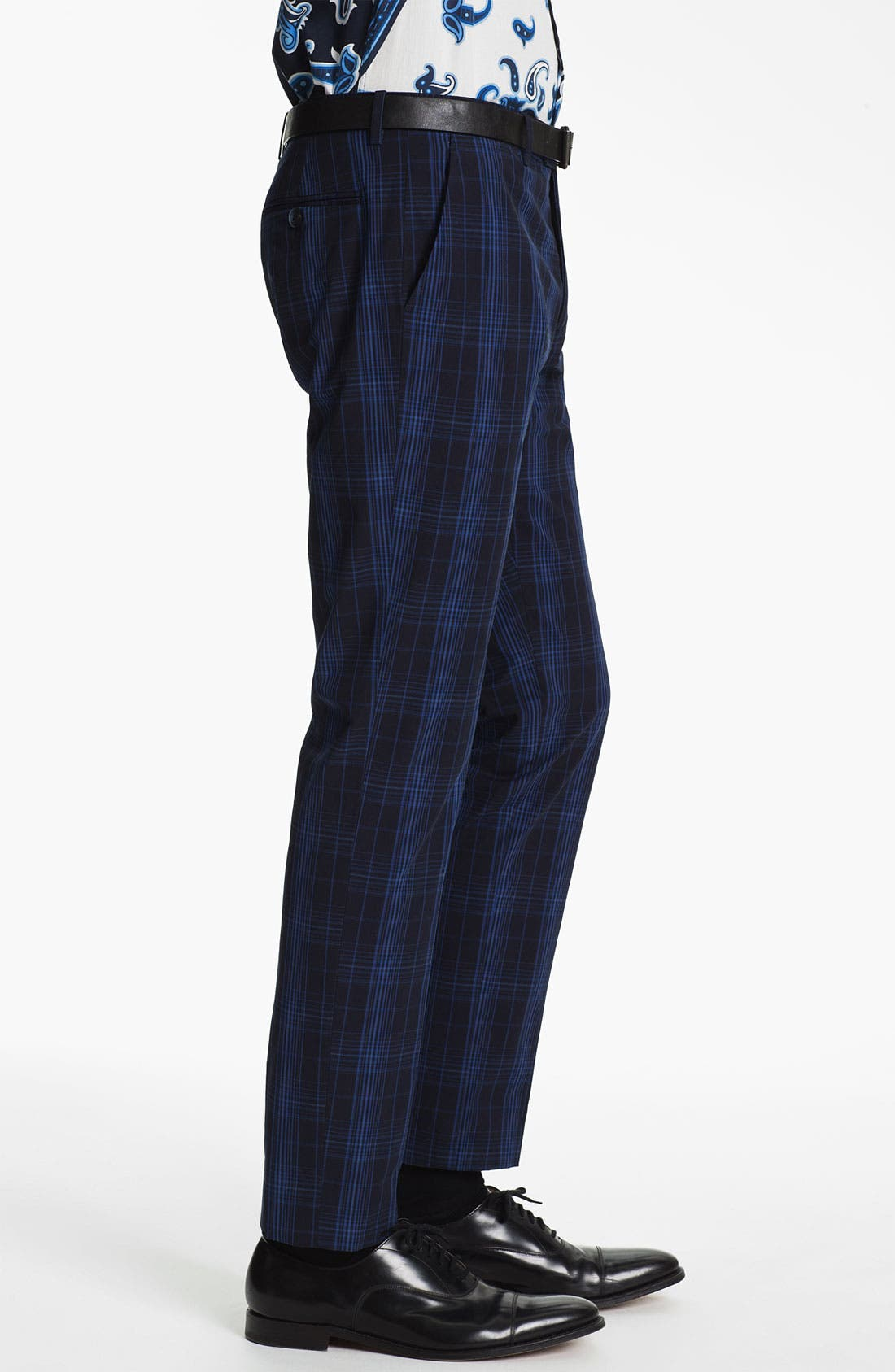 Alternate Image 3  - Etro 'Mexico' Slim Fit Plaid Trousers