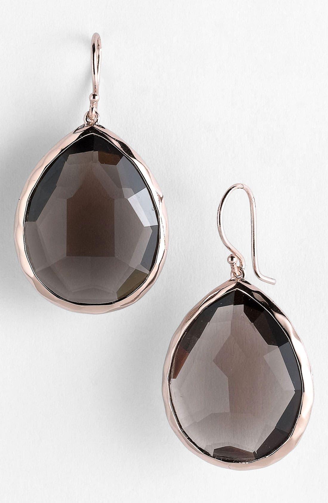 Alternate Image 1 Selected - Ippolita 'Rock Candy' Rosé Large Teardrop Earrings