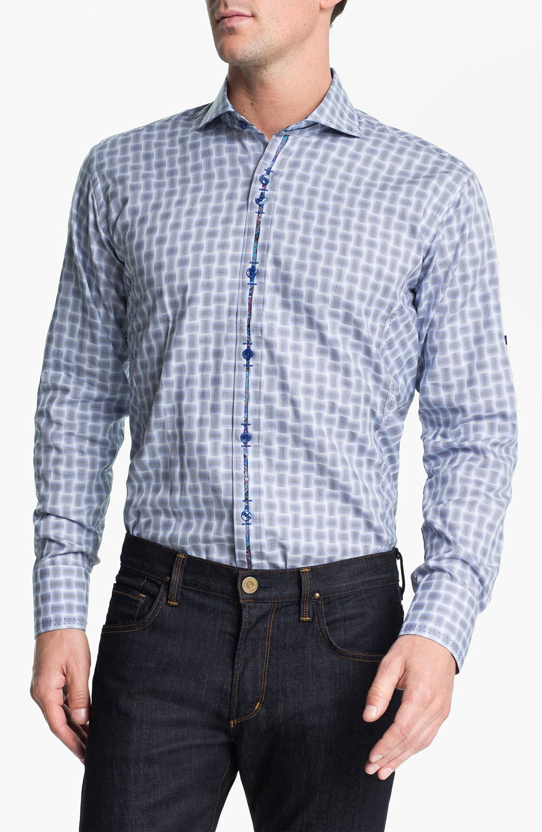 Alternate Image 1 Selected - Bogosse 'G David 83' Trim Fit Sport Shirt