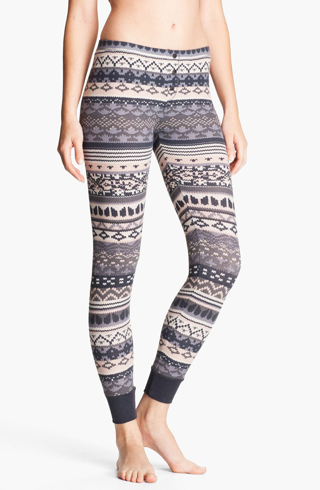 Alternate Image 1 Selected - Splendid 'Breckenridge' Thermal Leggings