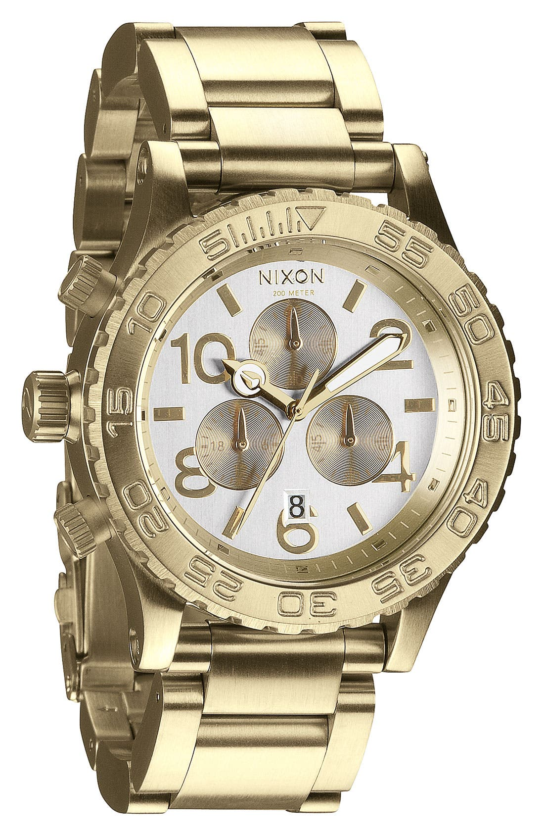 Main Image - Nixon 'The 42-20 Chrono' Watch, 42mm