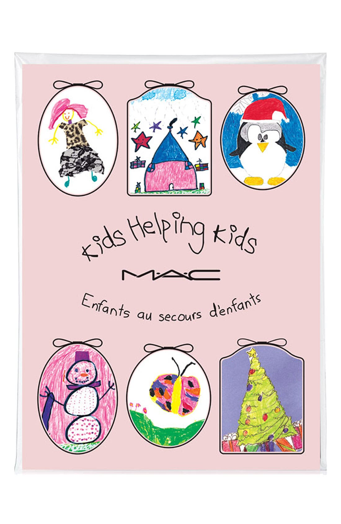 Main Image - M·A·C 'Kids Helping Kids' Greeting Cards (6 Count)