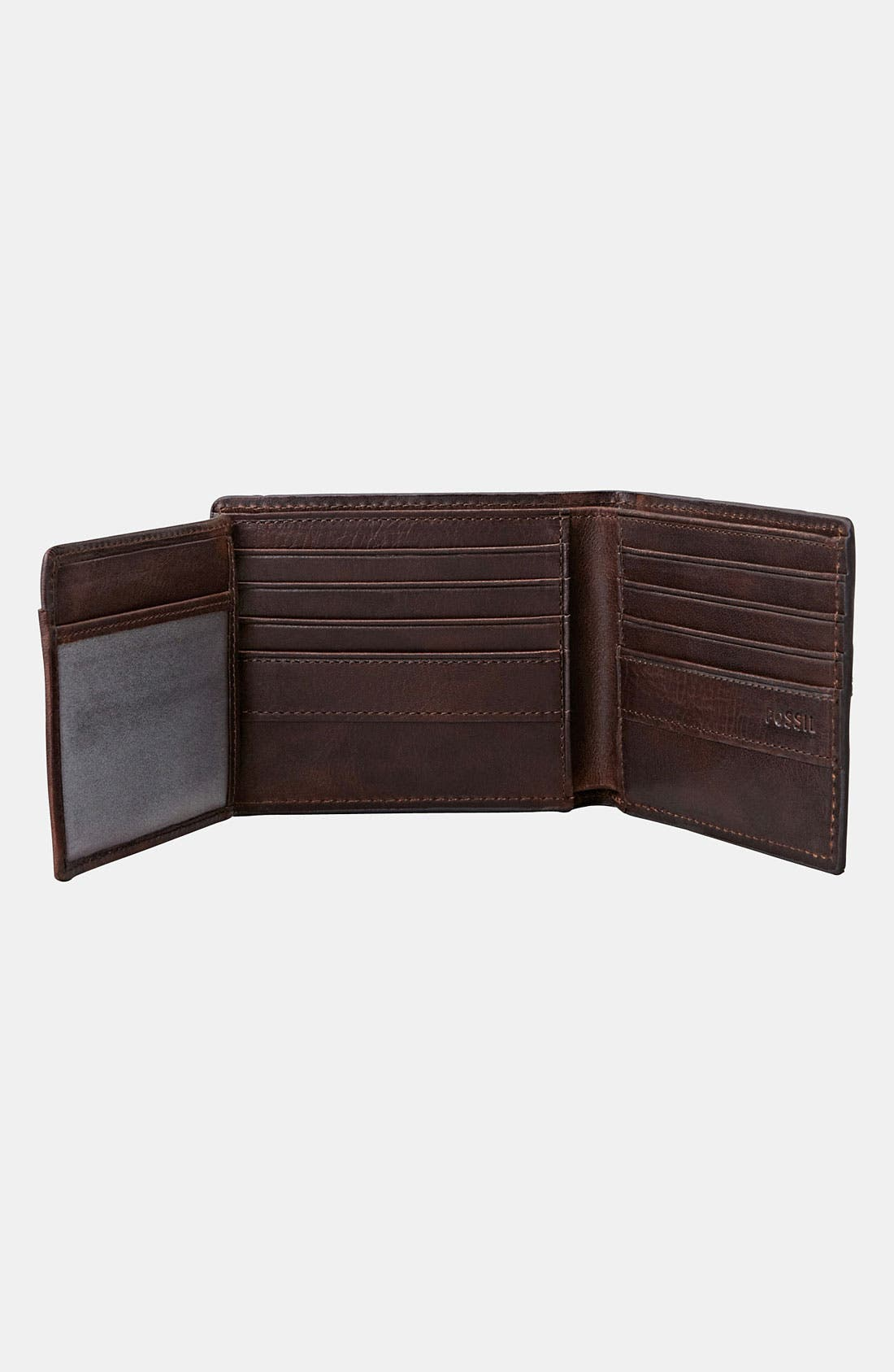 Alternate Image 4  - Fossil 'Dillon' Traveler Wallet