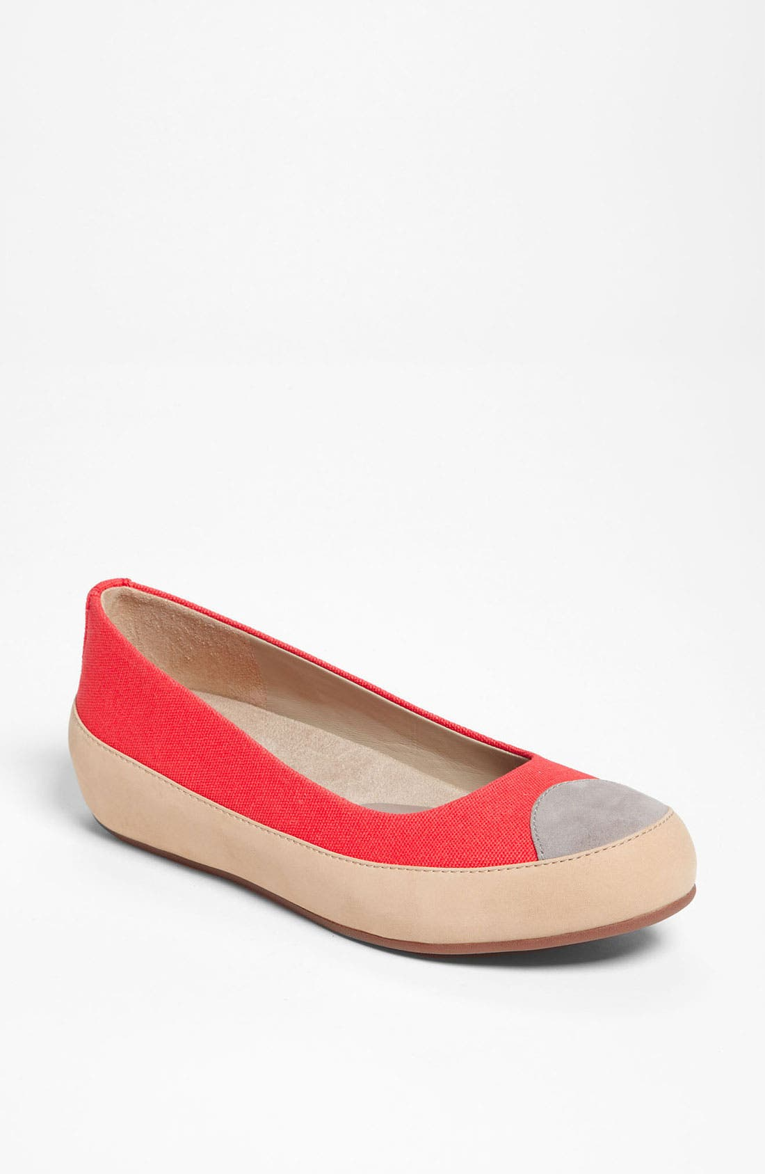 Alternate Image 1 Selected - FitFlop 'Dué™' Canvas Flat