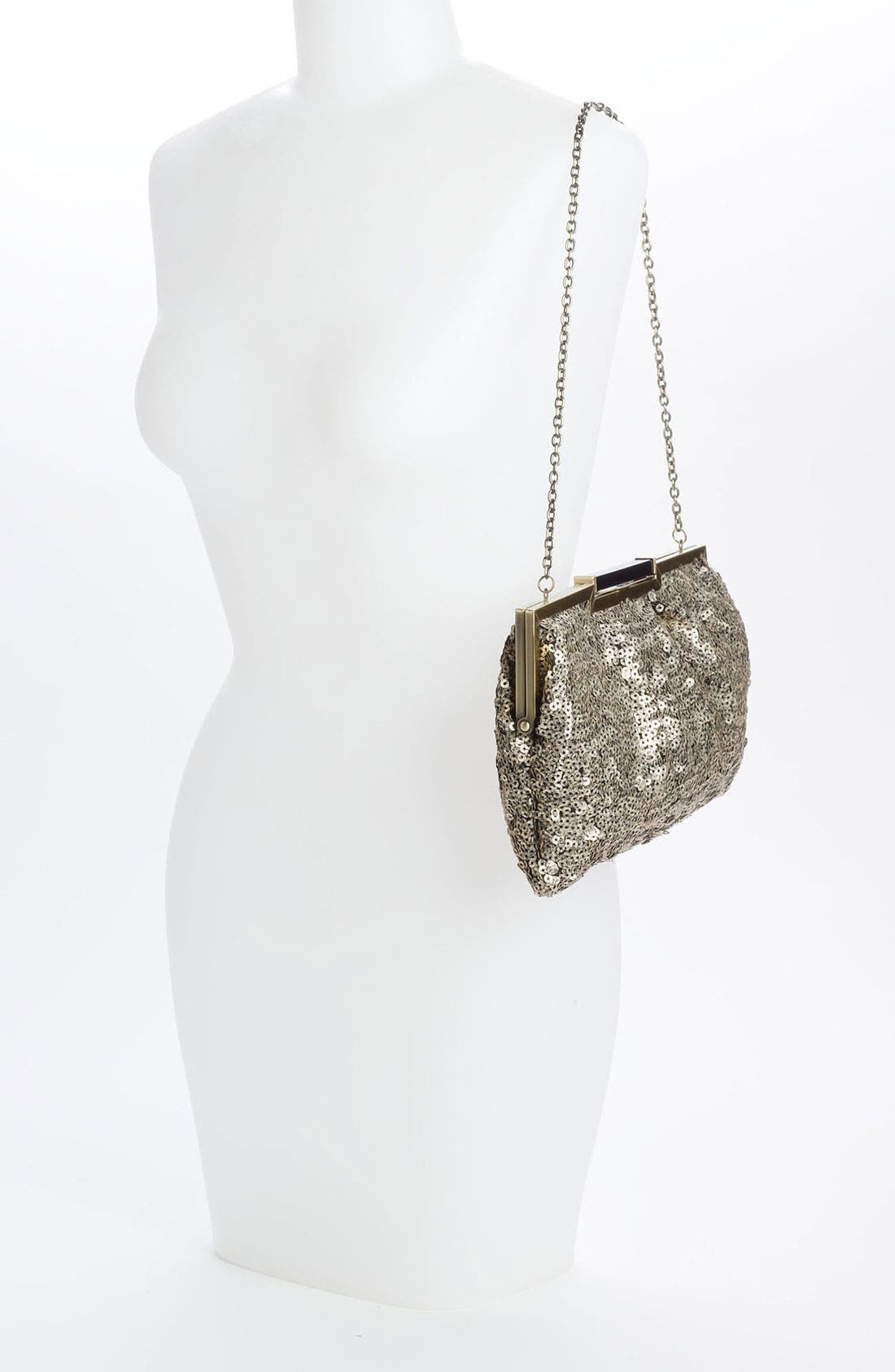 Alternate Image 2  - Sondra Roberts Sequin Pouch