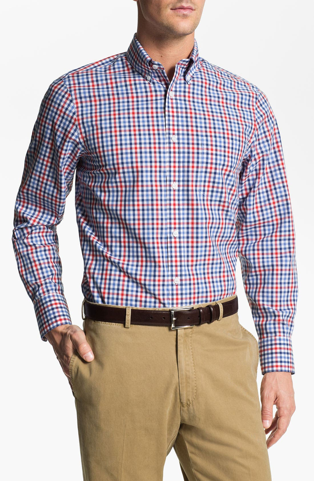 Main Image - Nordstrom Smartcare™ Regular Fit Sport Shirt