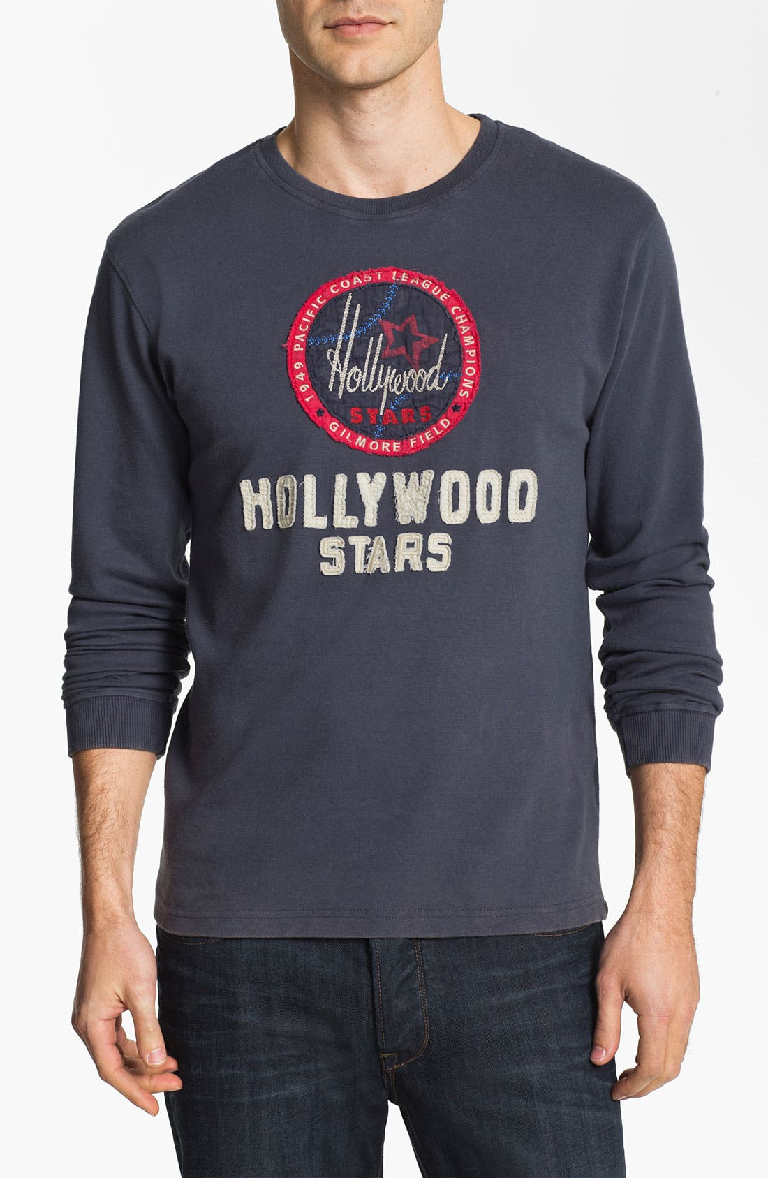 Alternate Image 1 Selected - Red Jacket 'Hollywood Stars - Team City' Long Sleeve T-Shirt