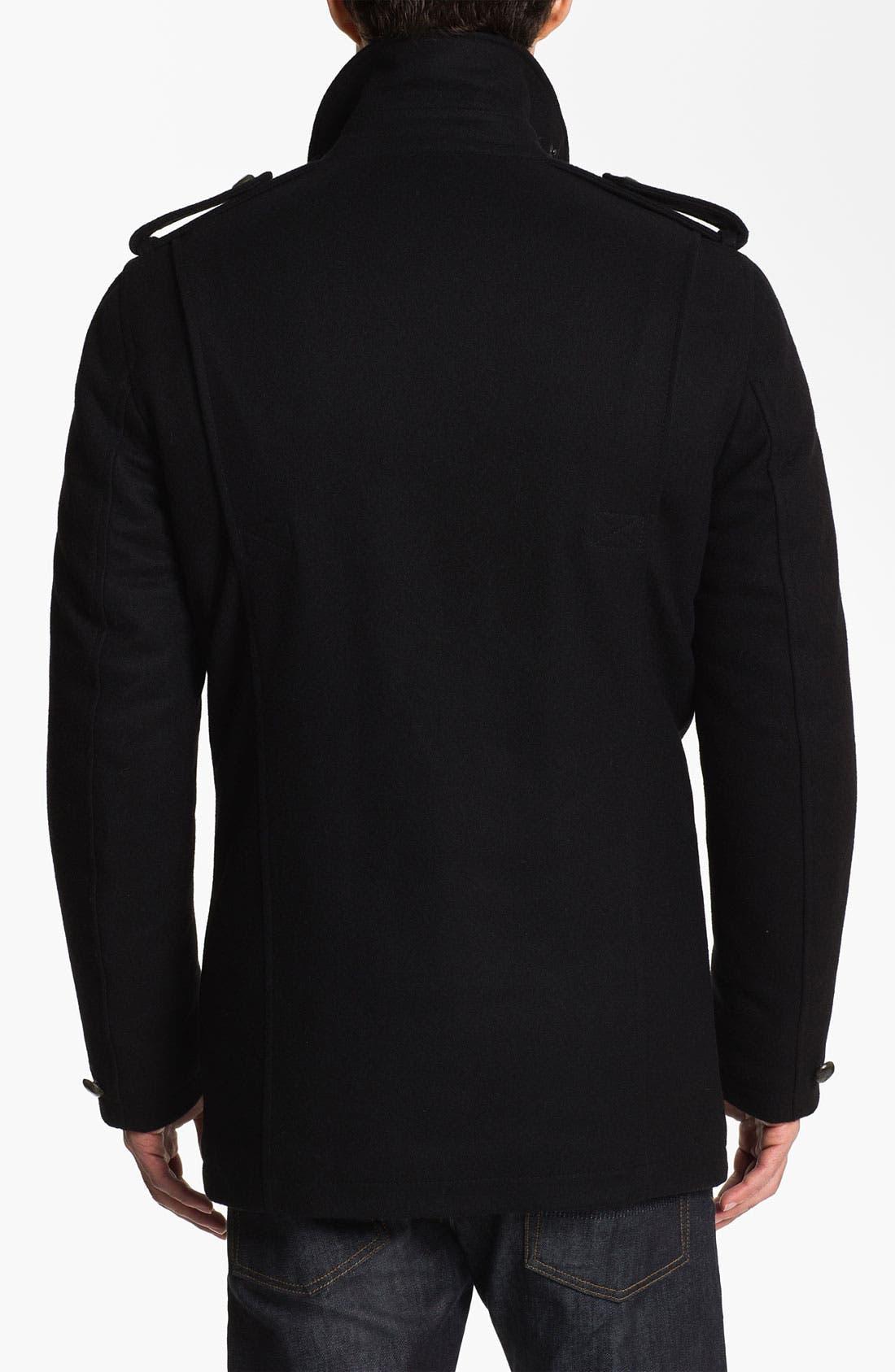 Alternate Image 2  - Vince Camuto Wool & Cashmere Blend Car Coat