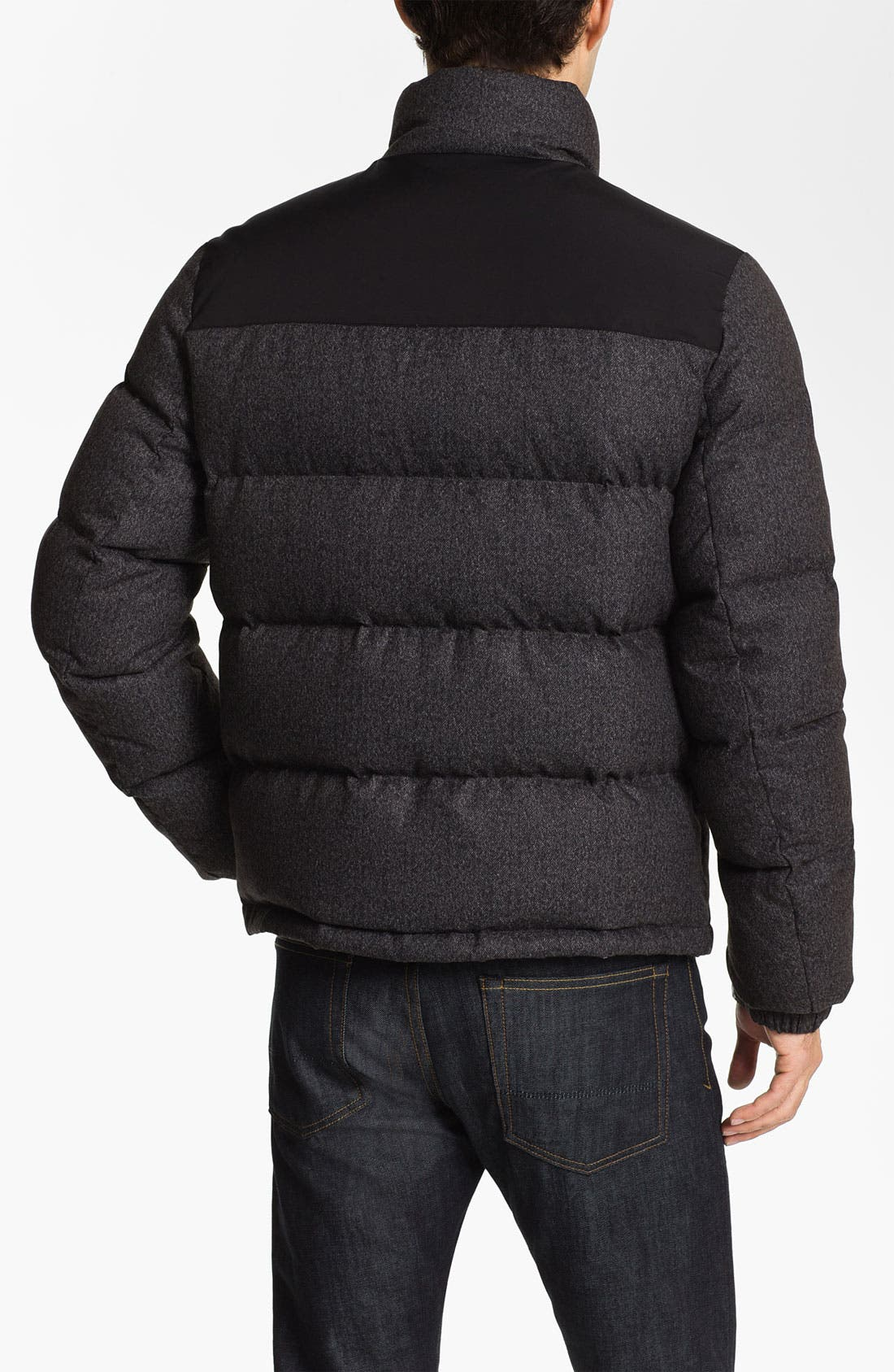 Alternate Image 2  - Vince Camuto Quilted Down & Feather Puffer Jacket