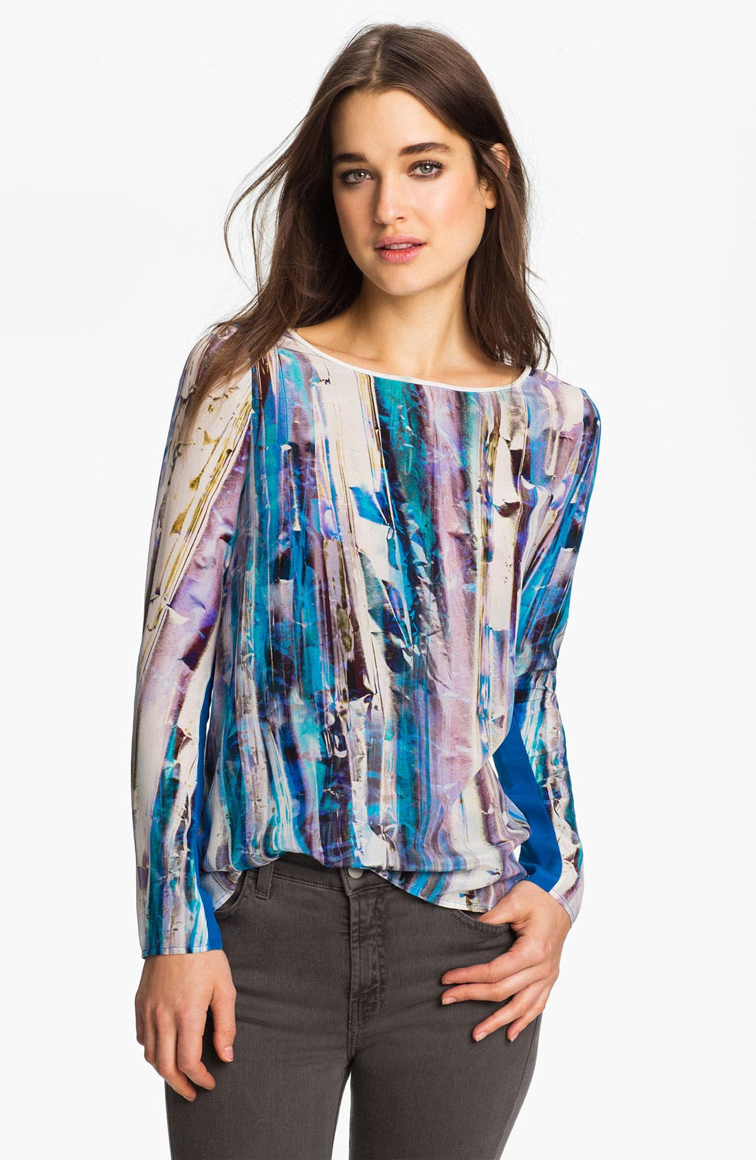 Alternate Image 1 Selected - Rebecca Minkoff 'Leah' Crystal Print Top