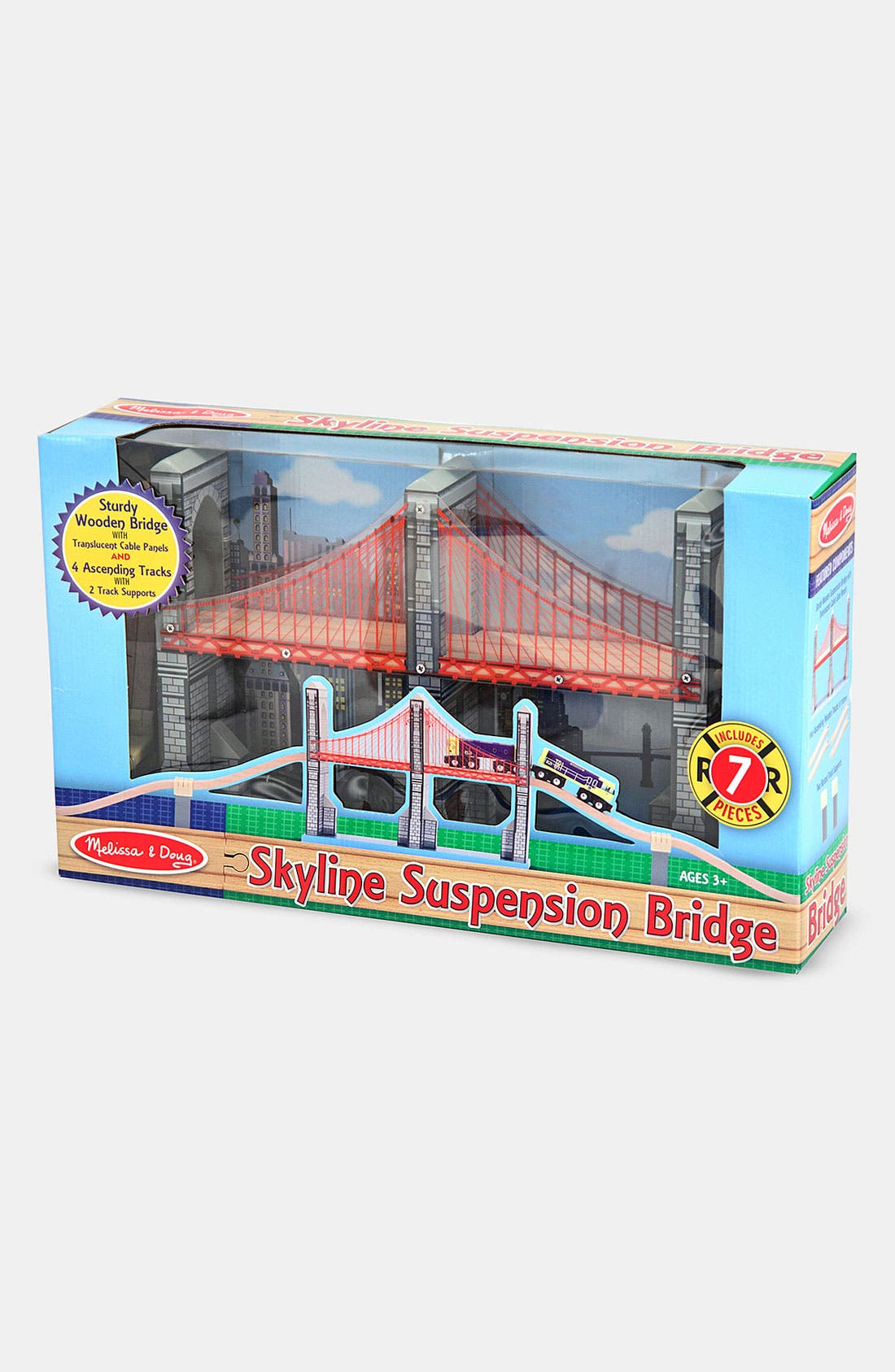 Alternate Image 1 Selected - Melissa & Doug Skyline Suspension Bridge