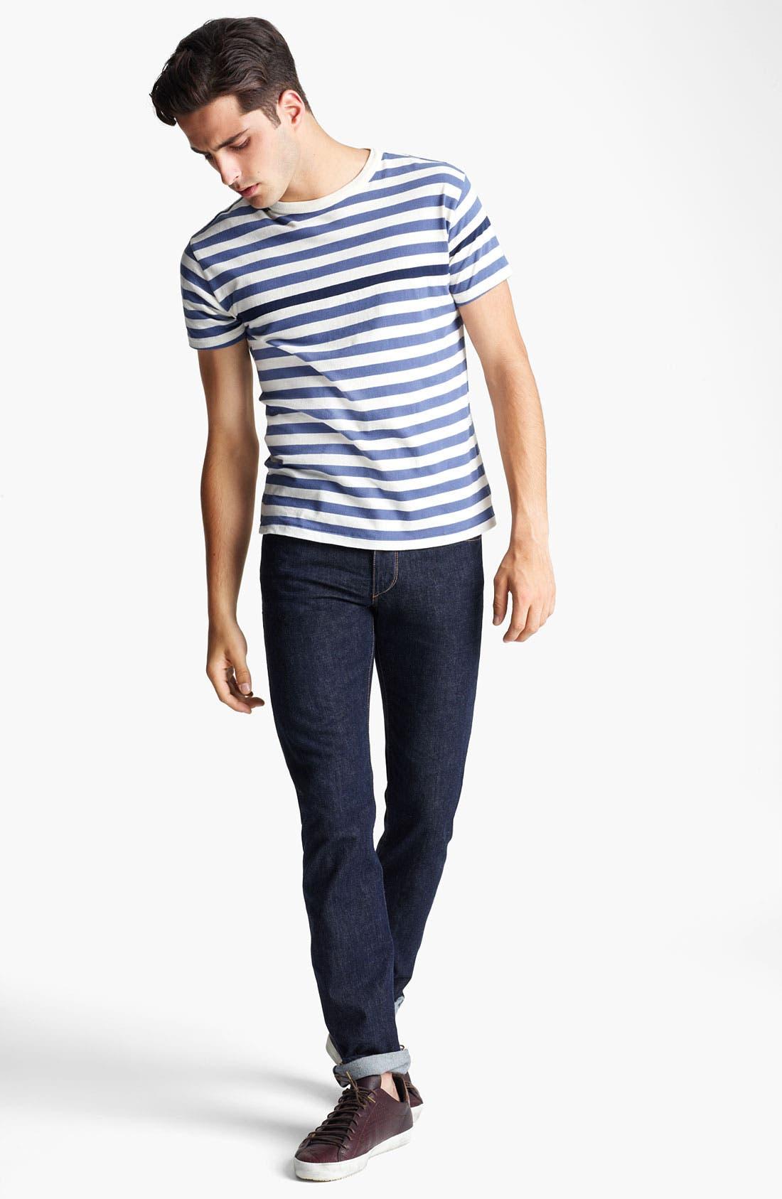 Alternate Image 4  - rag & bone Stripe Print T-Shirt
