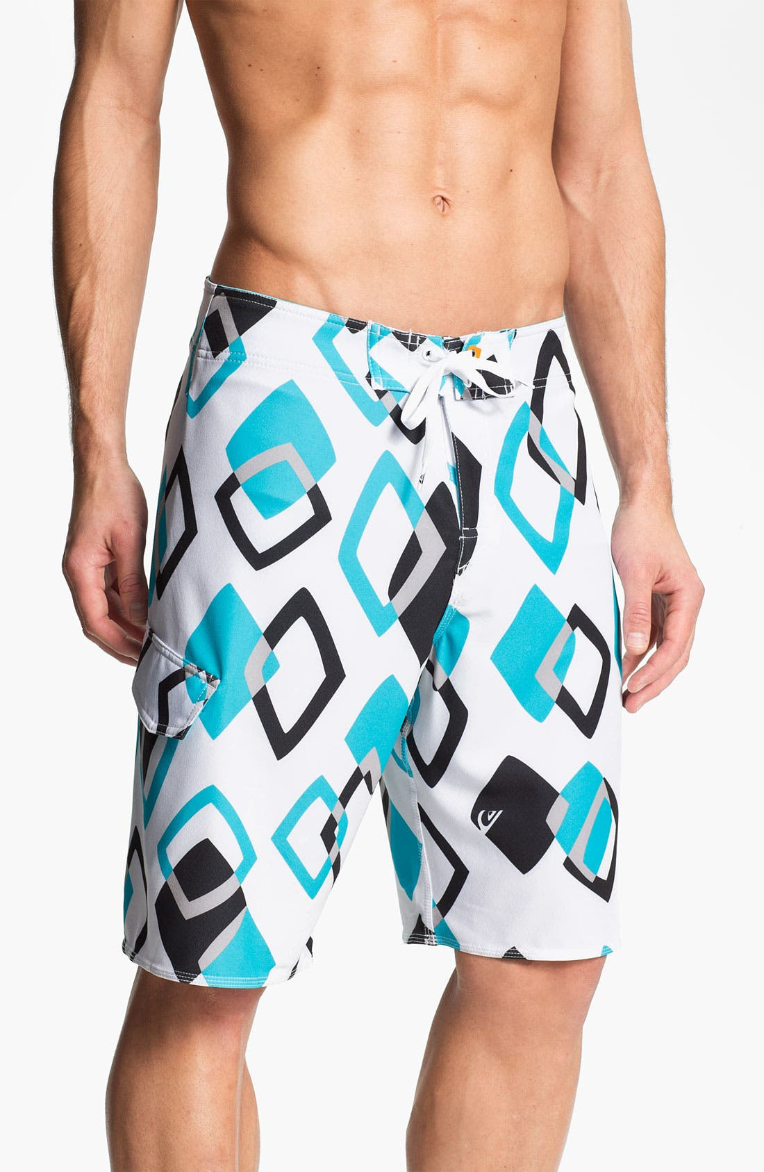Alternate Image 1 Selected - Quiksilver Waterman 'Kaleidoscope' Board Shorts