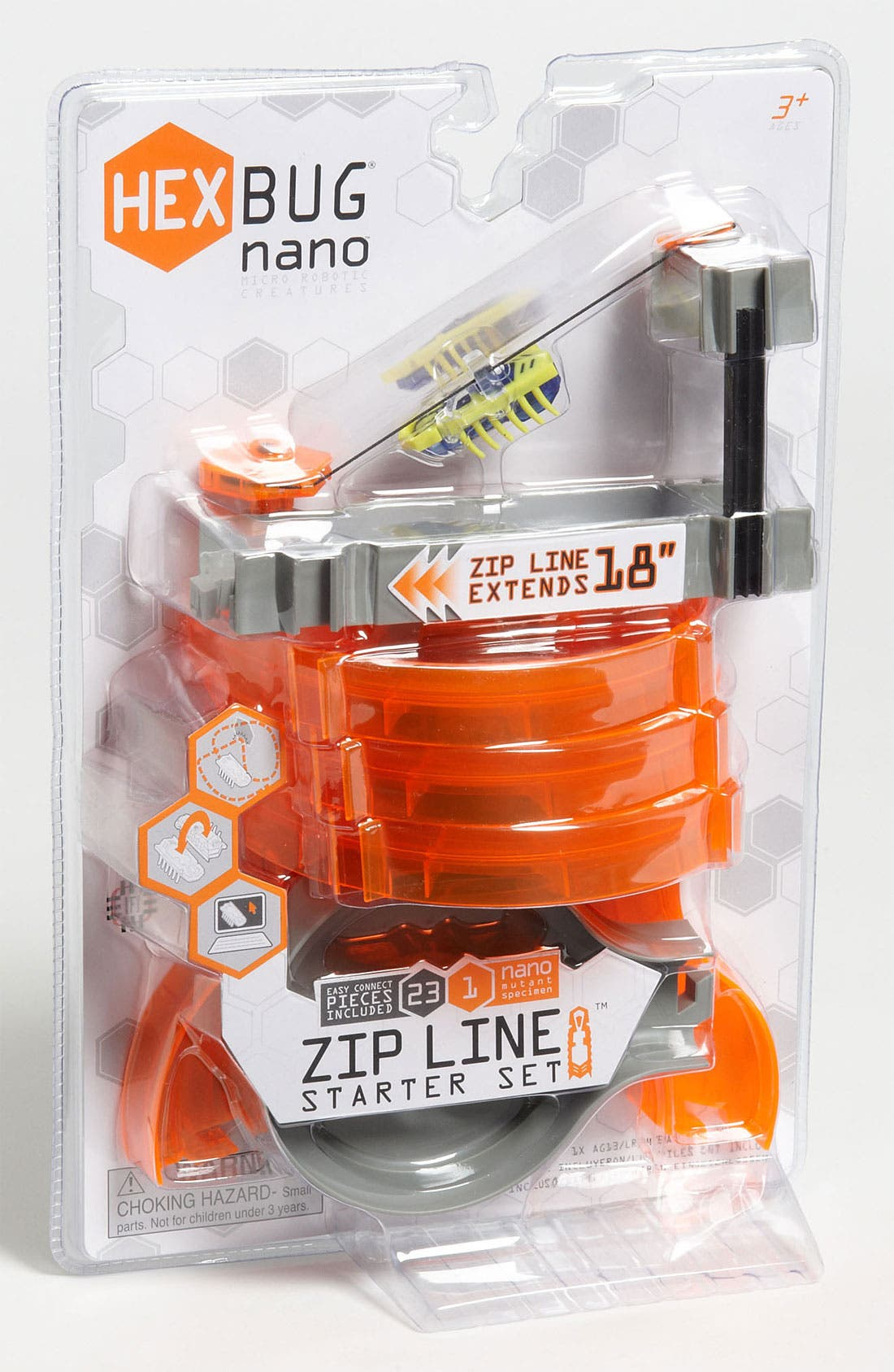Alternate Image 1 Selected - Hexbug Toys 'Nano Zip Line' Starter Set