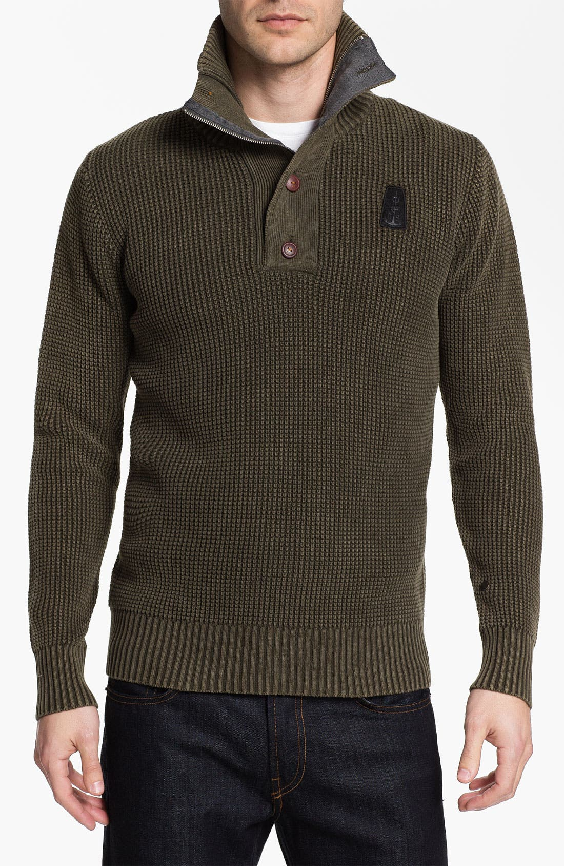 Alternate Image 1 Selected - G-Star Raw 'Johann' Henley Sweater