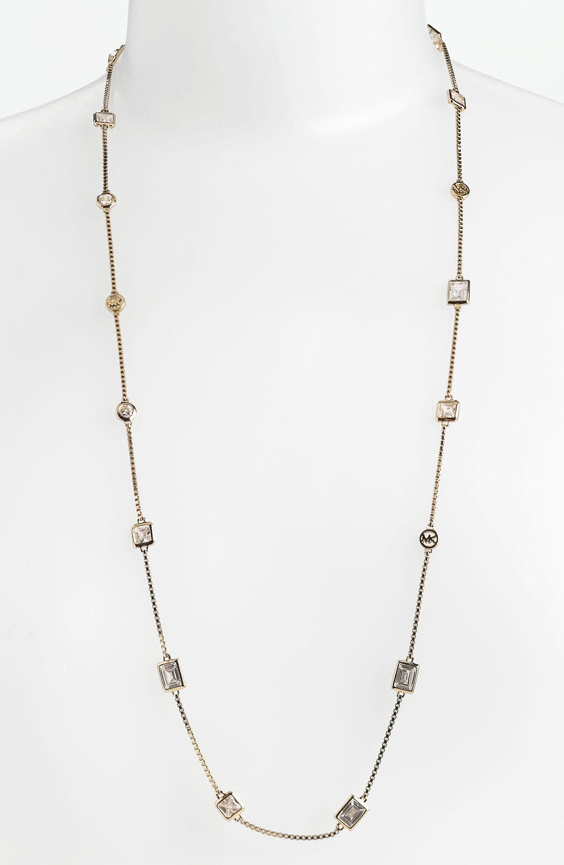 Alternate Image 1 Selected - Michael Kors Station Necklace