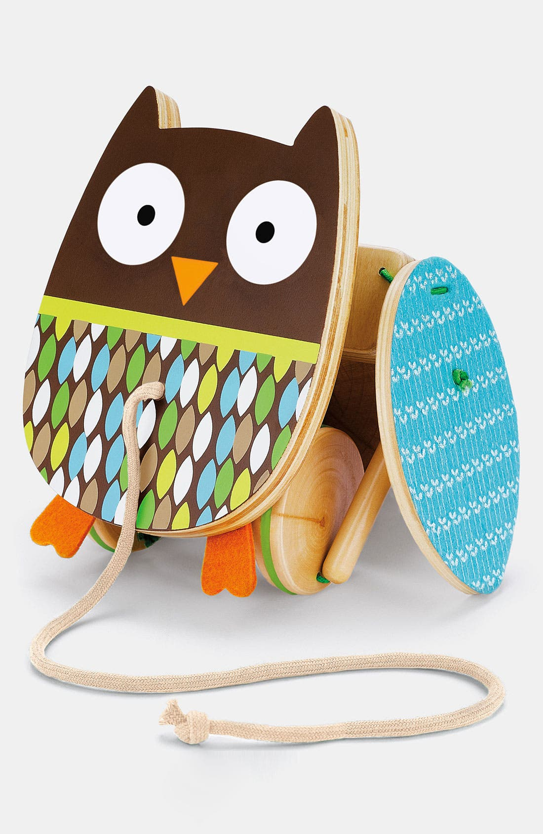 Alternate Image 1 Selected - Skip Hop 'Treetop Friends - Flapping Owl' Pull Toy (Toddler)