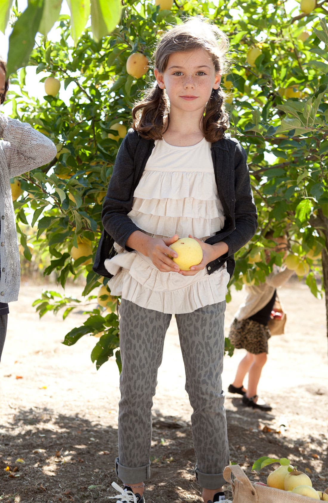 Alternate Image 2  - Peek 'Lillian' Cardigan (Toddler, Little Girls & Big Girls)