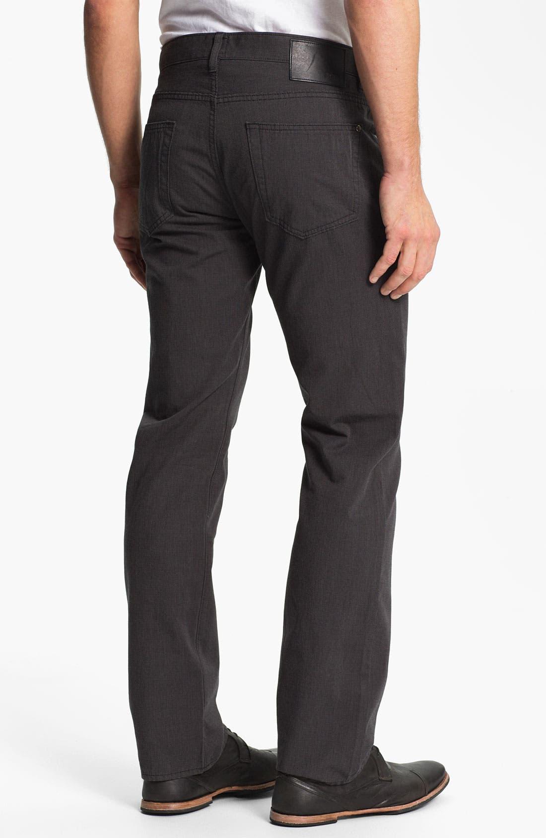 Alternate Image 2  - BOSS Black 'Kansas' Houndstooth Pants