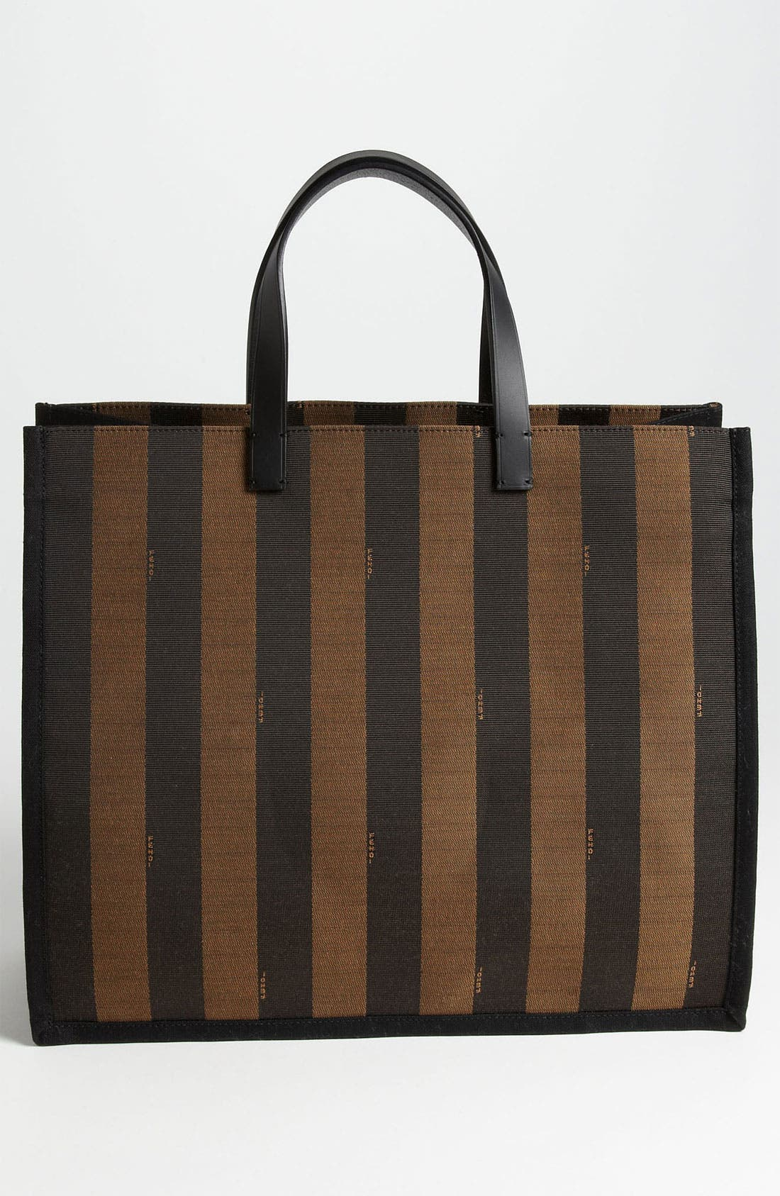 Alternate Image 4  - Fendi 'Pequin - Large' Tote