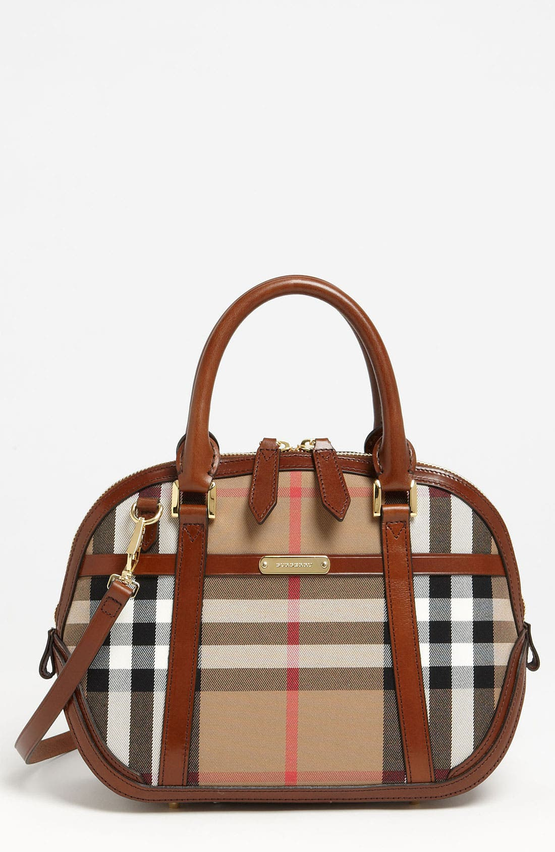Main Image - Burberry 'House Check' Crossbody Satchel