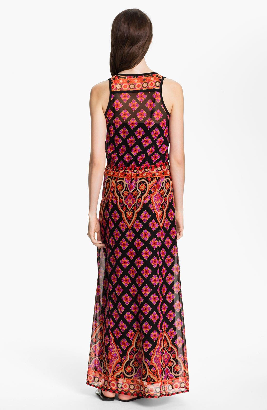 Alternate Image 2  - Nanette Lepore 'Electrifying' Silk Maxi Dress