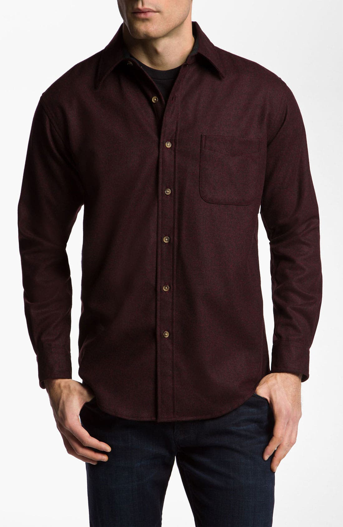 Main Image - Pendleton Virgin Wool Woven Shirt