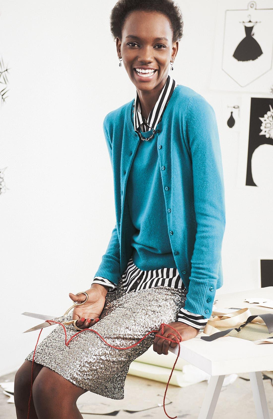 Alternate Image 2  - Caslon® Plaid Chiffon Shirt