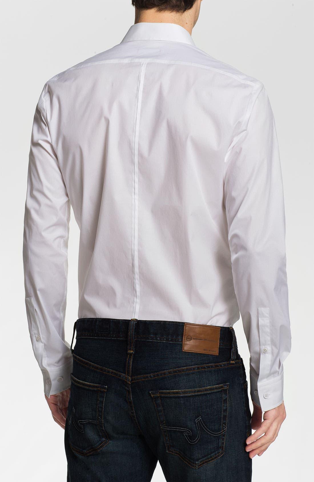 Alternate Image 2  - HUGO 'Eleo' Slim Fit Sport Shirt