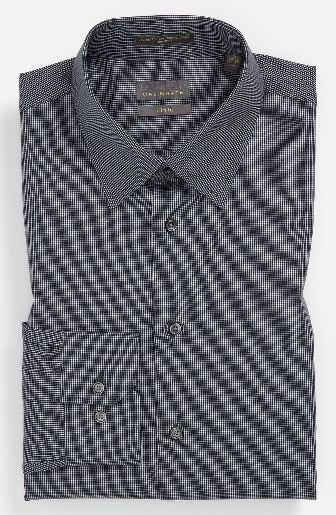Main Image - Calibrate Trim Fit Non-Iron Dress Shirt