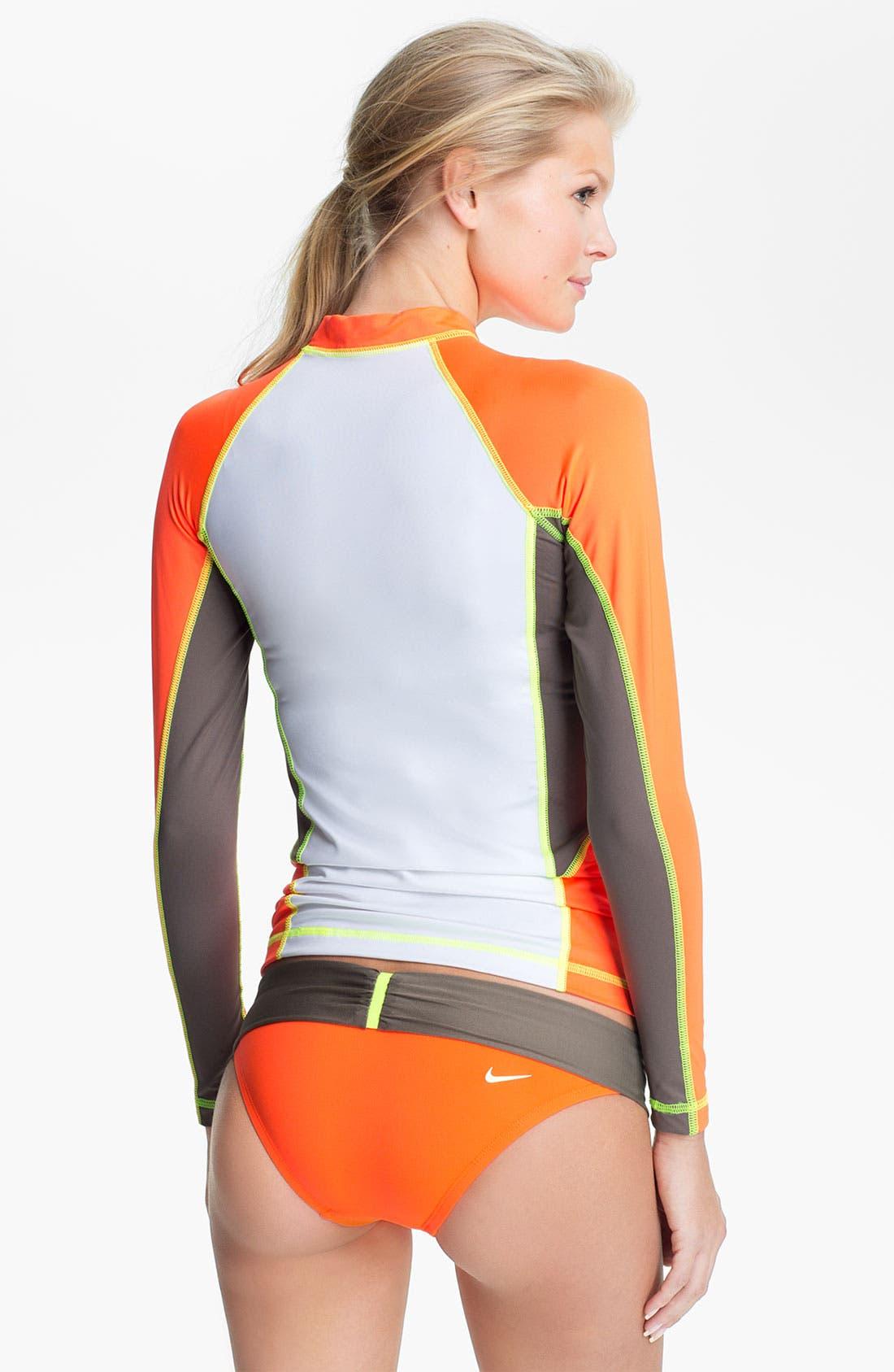 Alternate Image 4  - Nike 'Bondi' Colorblock Bikini Bottoms