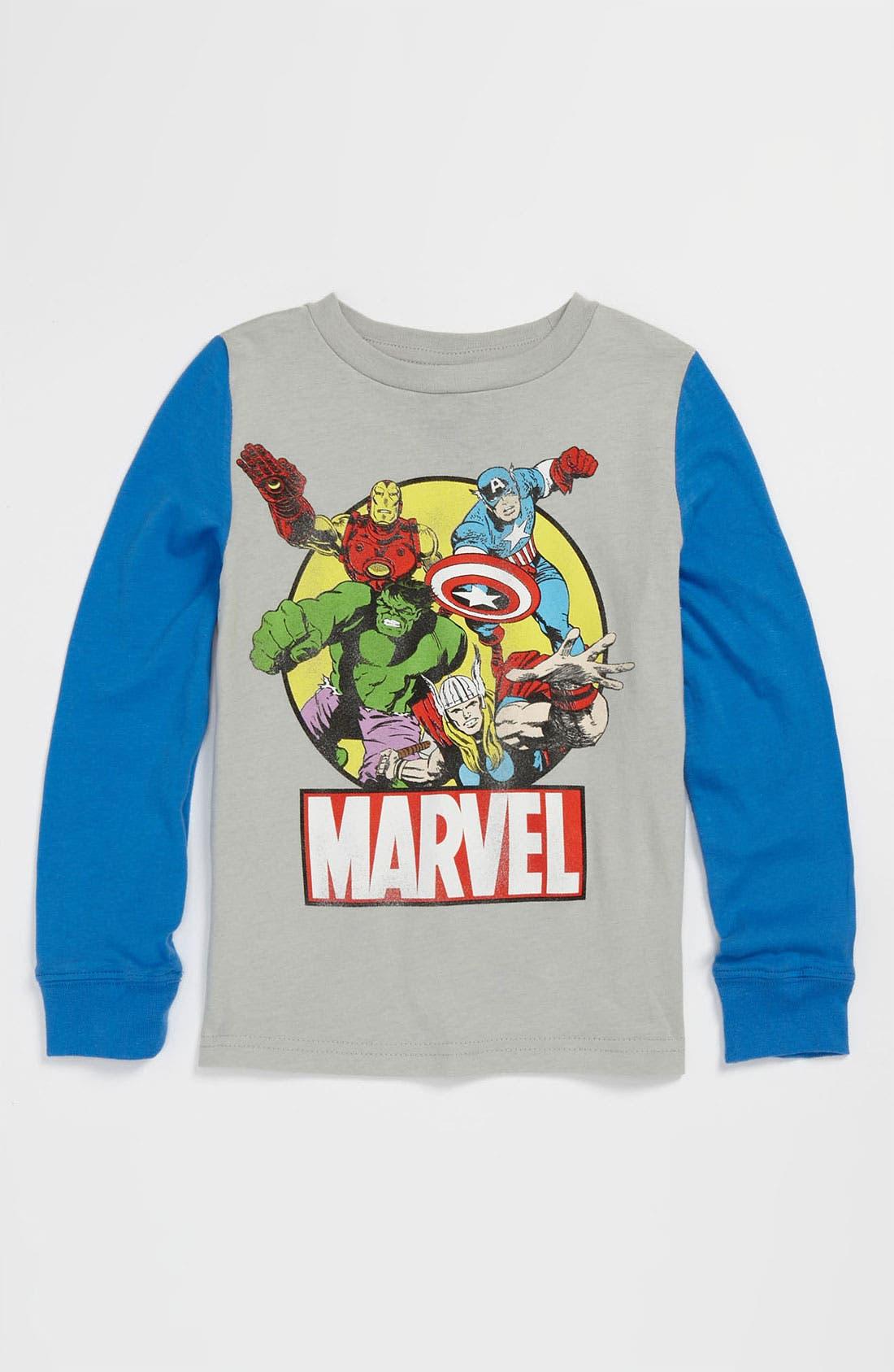 Alternate Image 1 Selected - Jem 'Marvel® Avenger Clip' T-Shirt (Toddler)