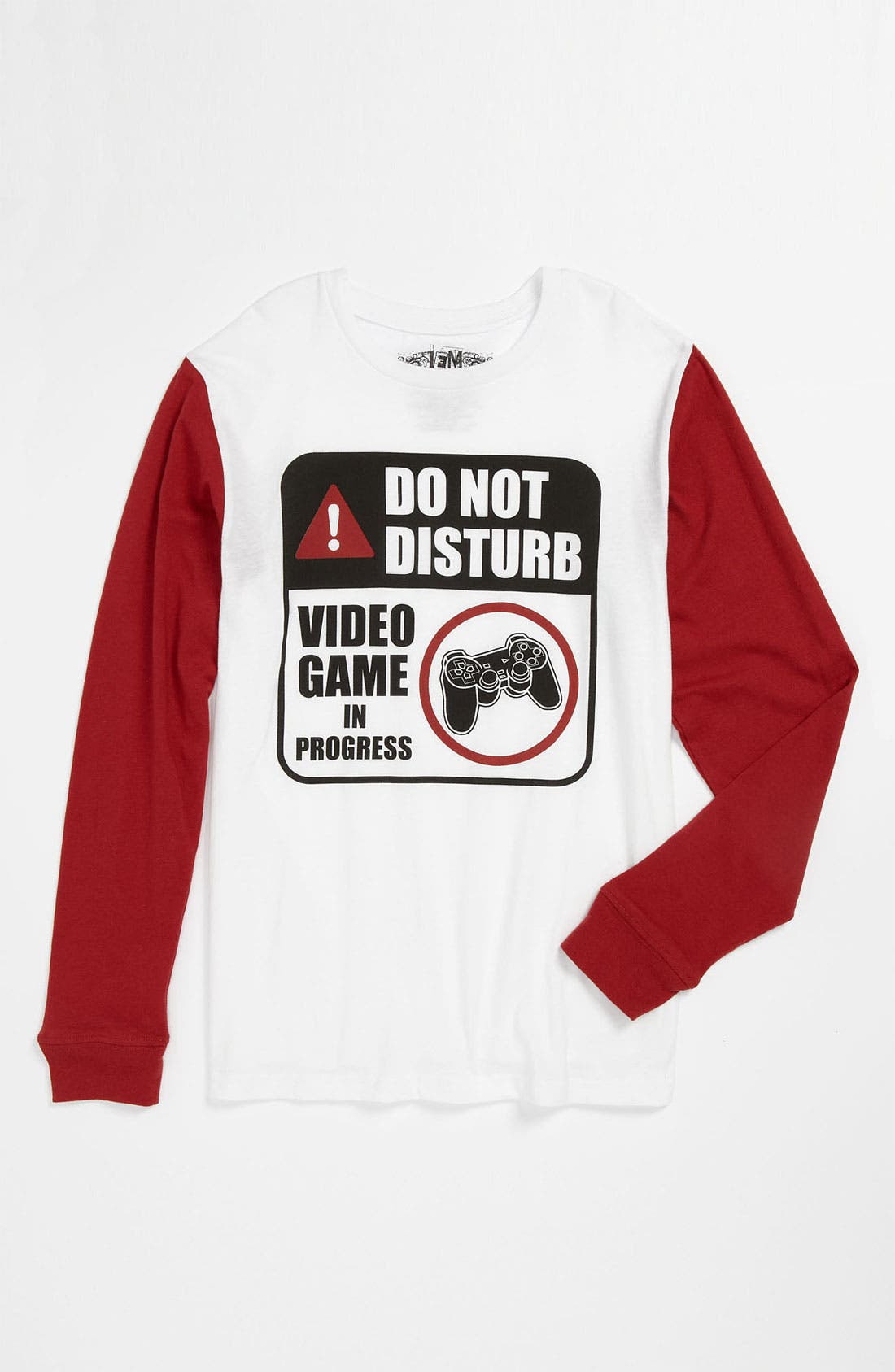 'Game in Progress' T-Shirt,                         Main,                         color, White Scarlet