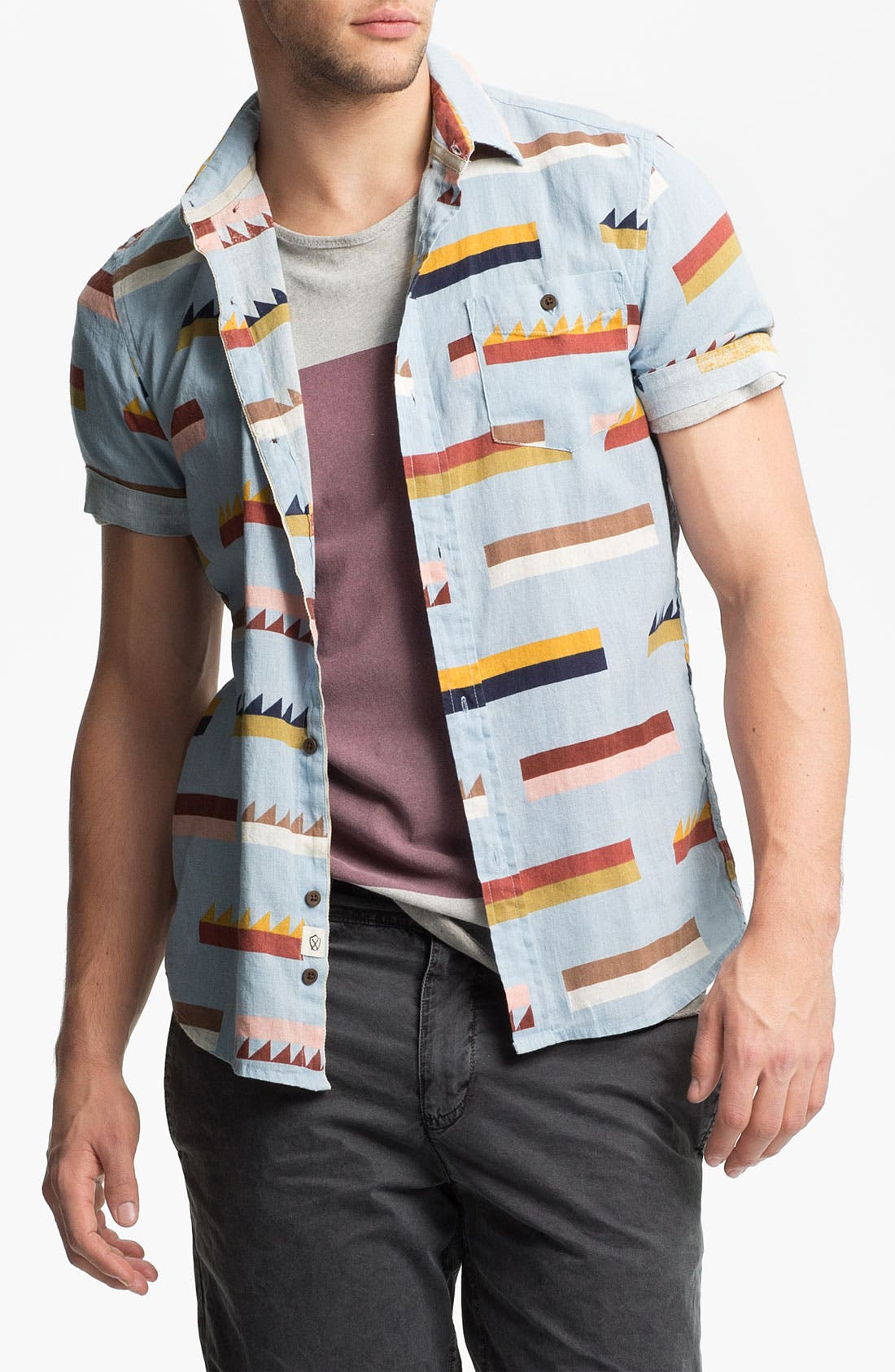 Alternate Image 1 Selected - Zanerobe 'Hobie' Woven Shirt