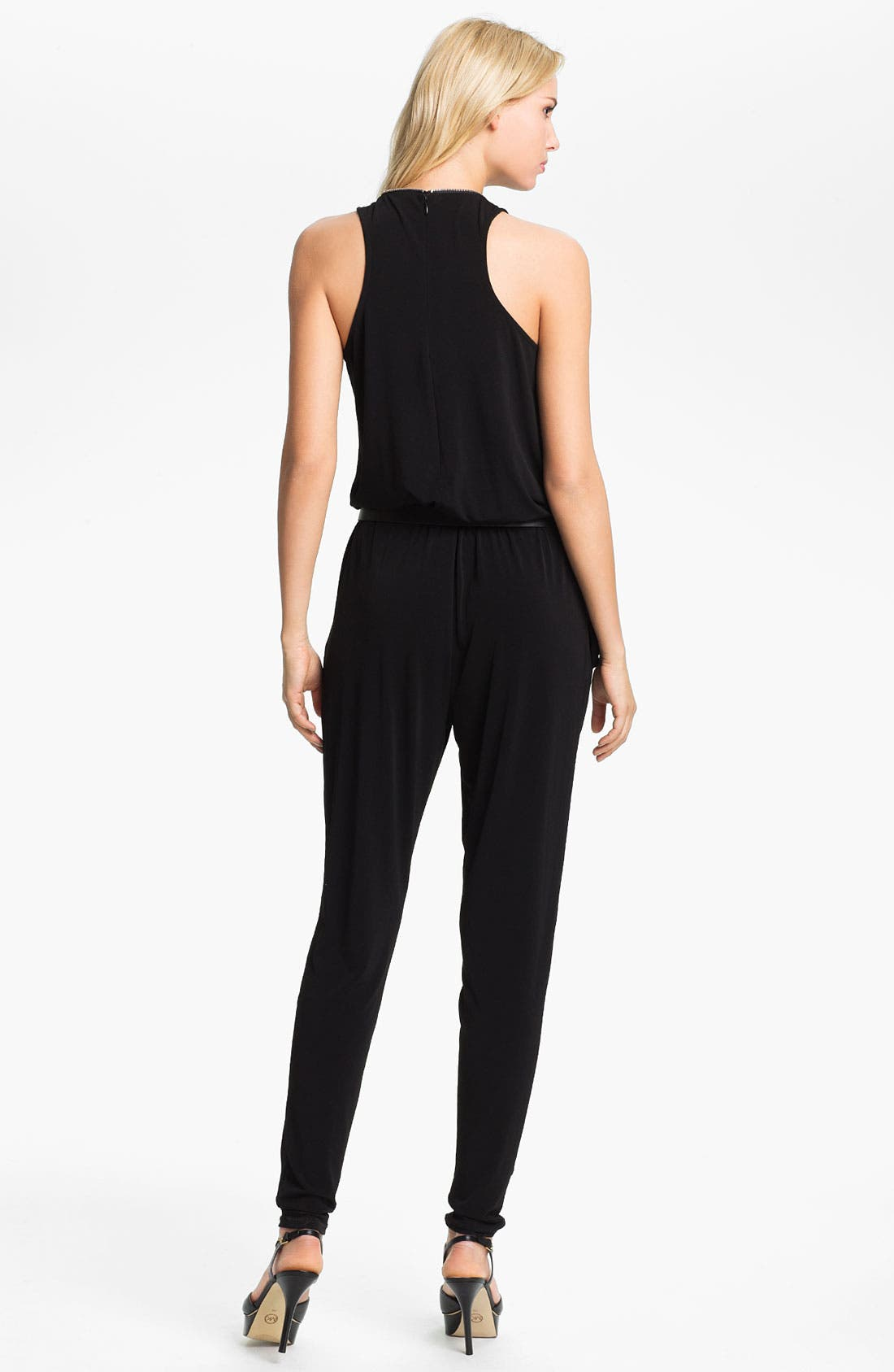 Alternate Image 2  - MICHAEL Michael Kors Zip Front Jumpsuit