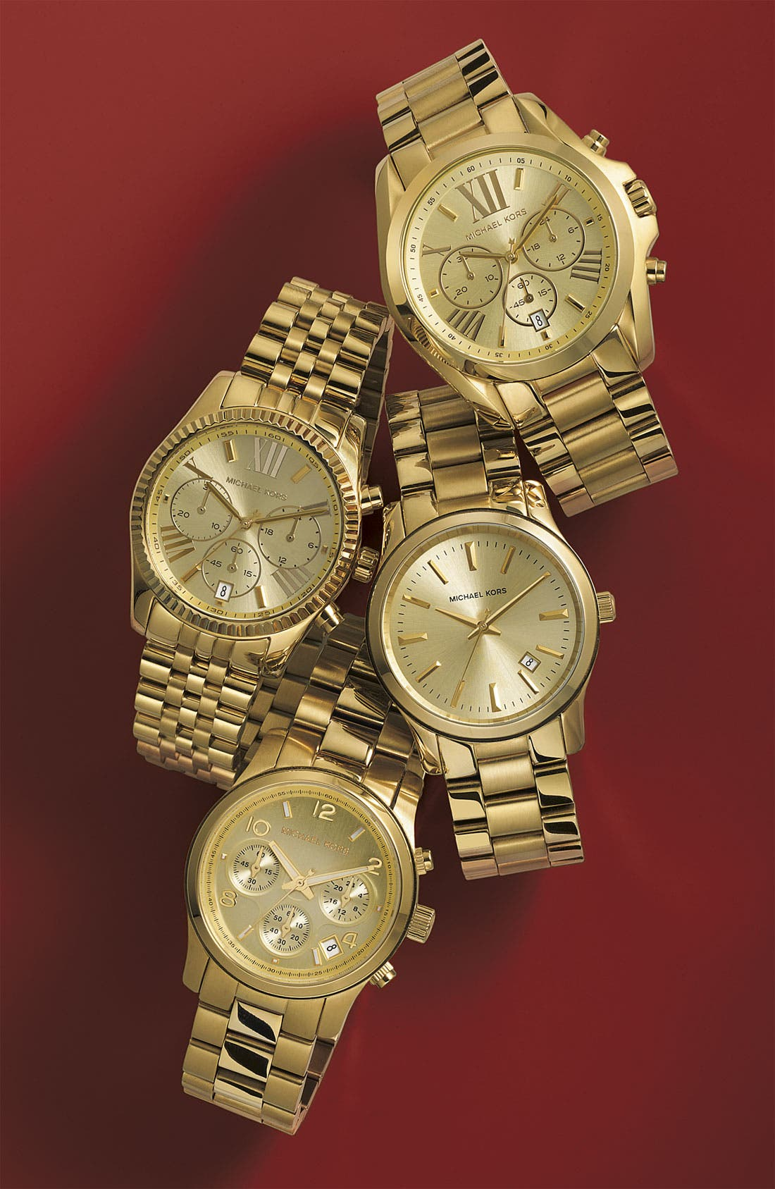Alternate Image 5  - Michael Kors 'Lexington' Chronograph Bracelet Watch, 38mm